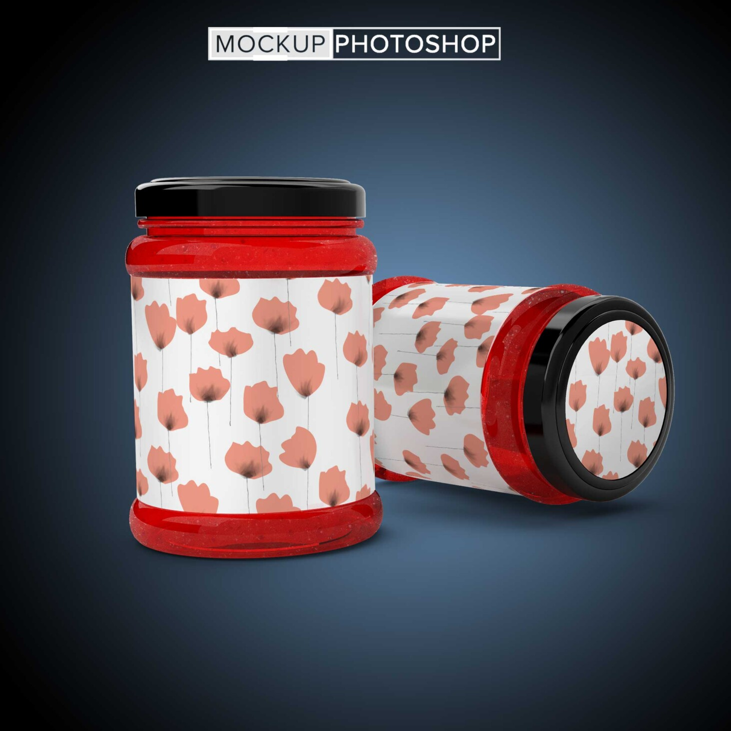 Jar Container Mockup