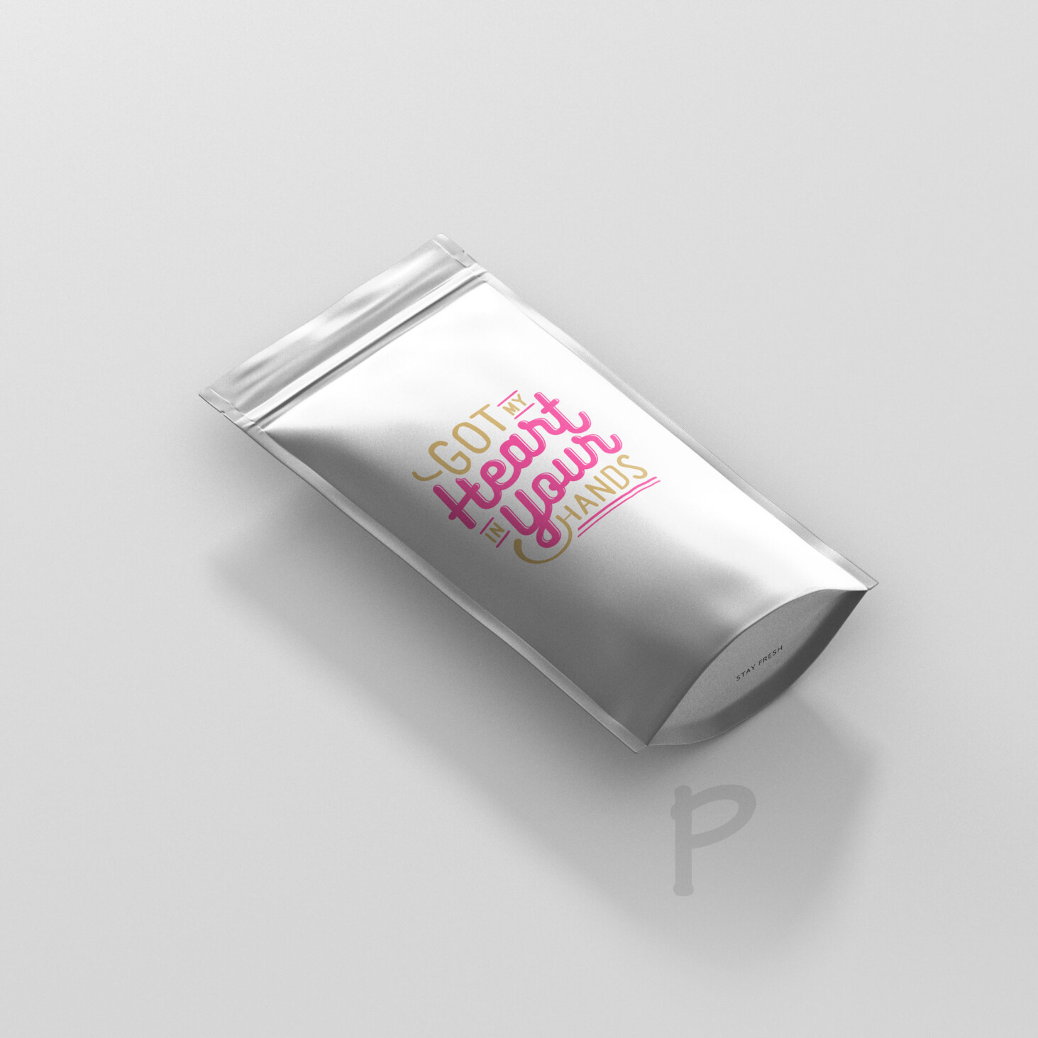 Ultimate Pouch Packet Mockup