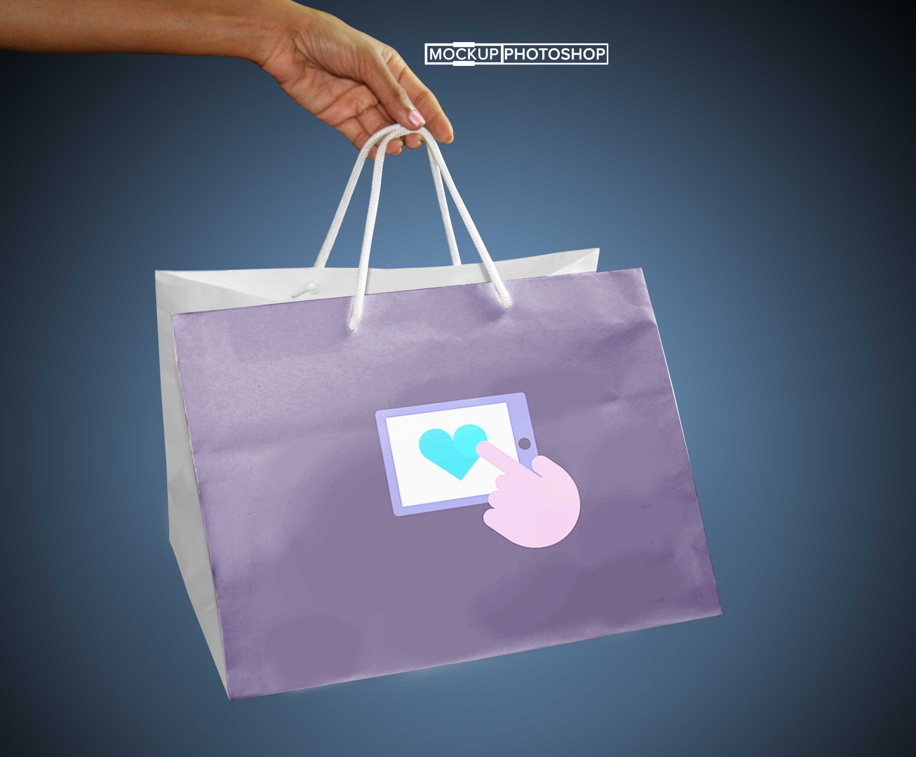 Solid White Bag Mockups