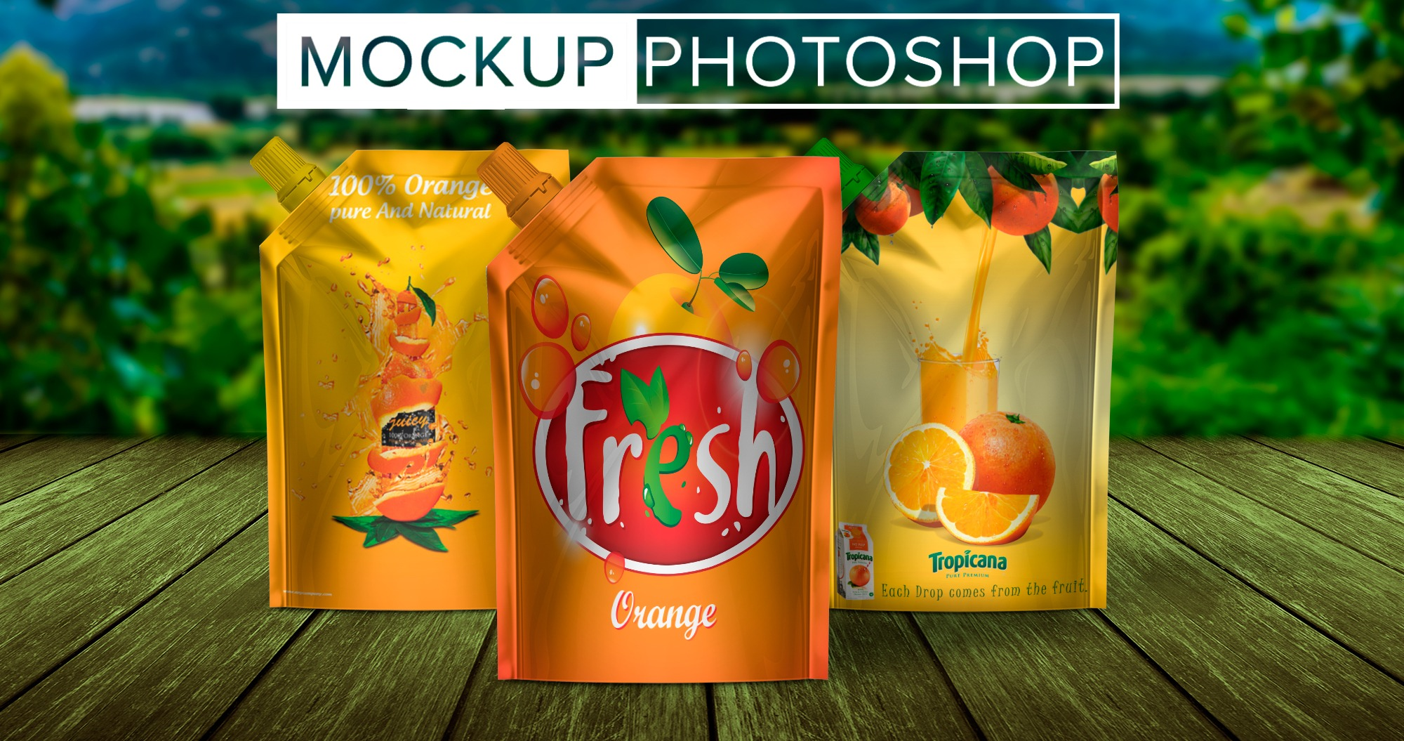 Package Design Mockups