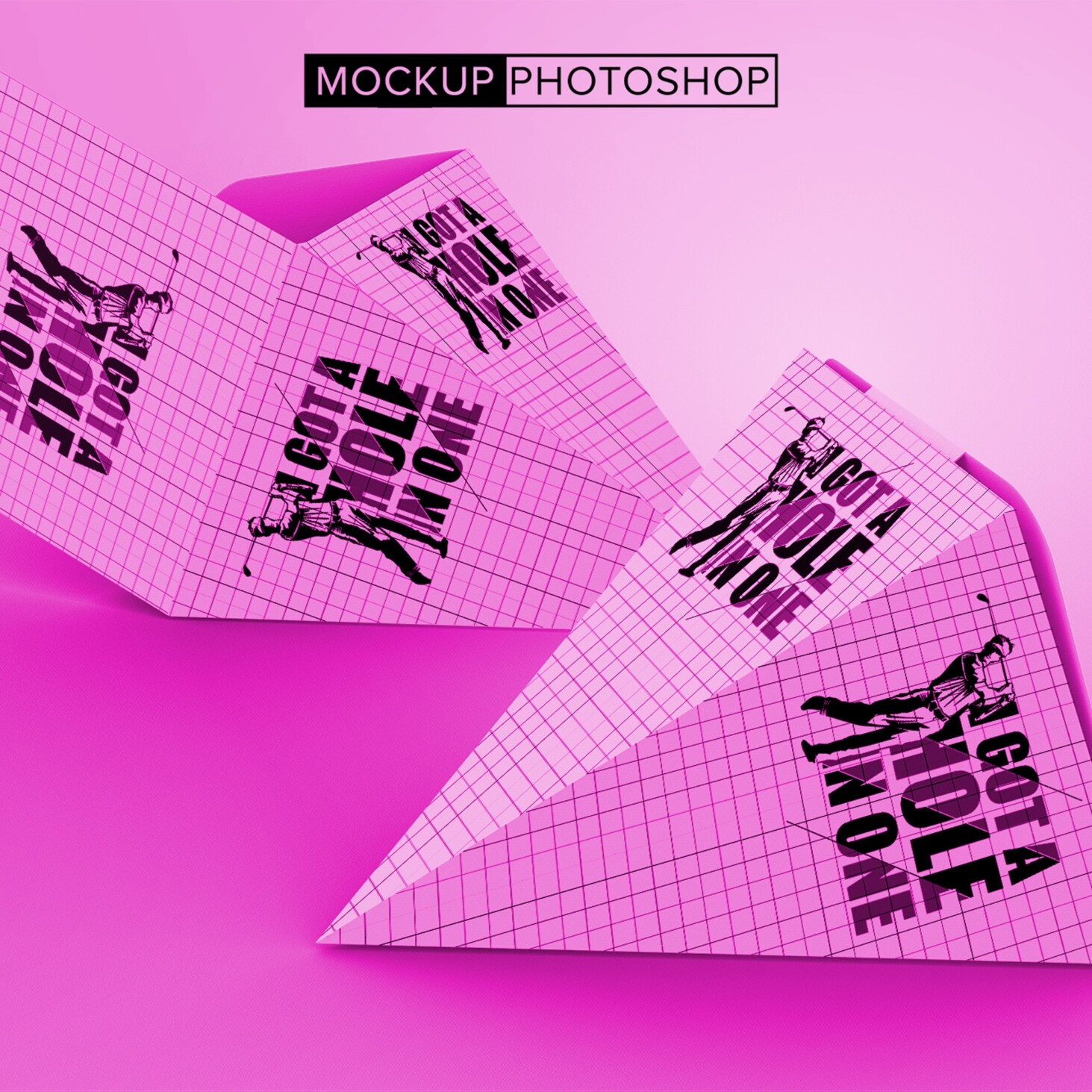 Cone Package Mockups