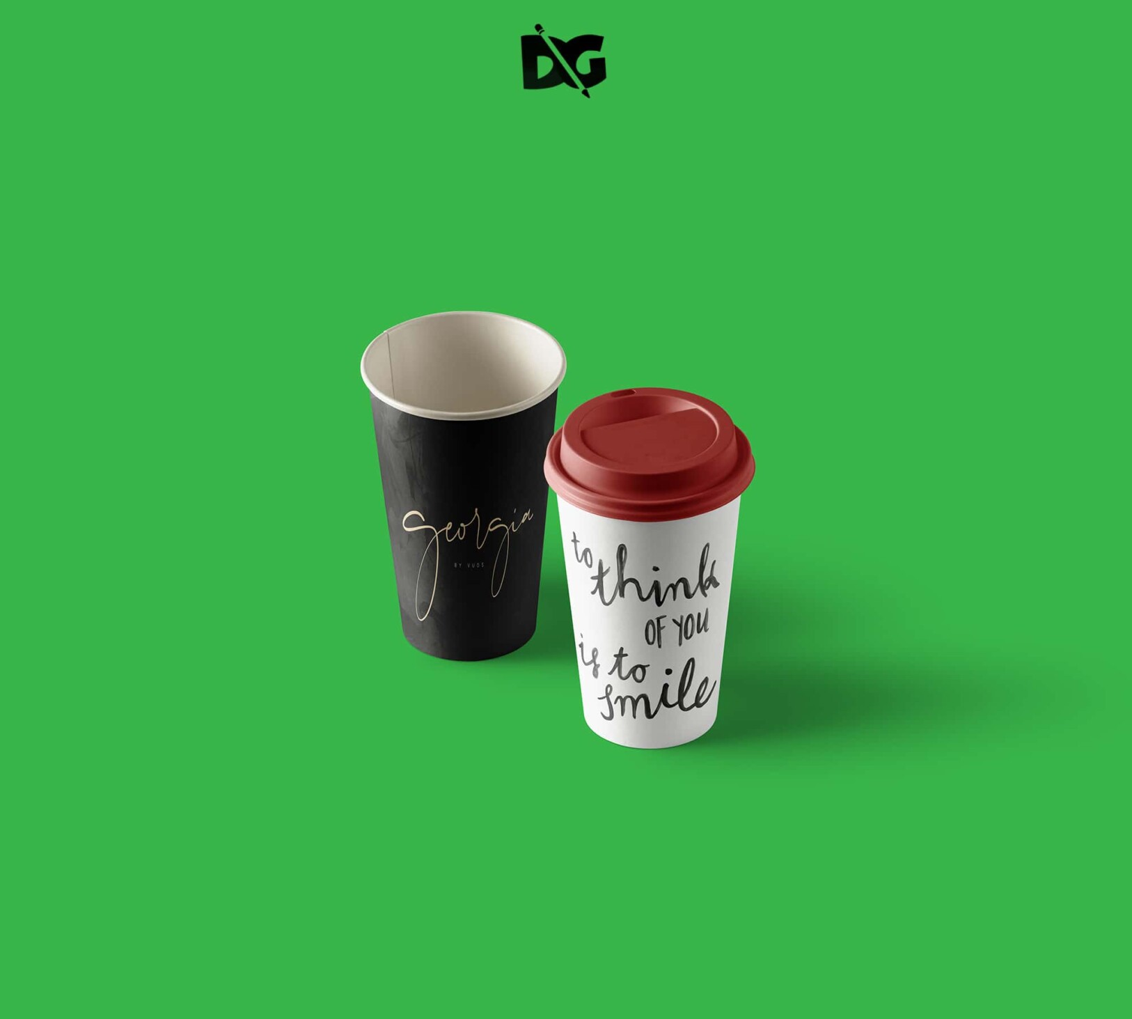 Coffee Glass Mug Mockup