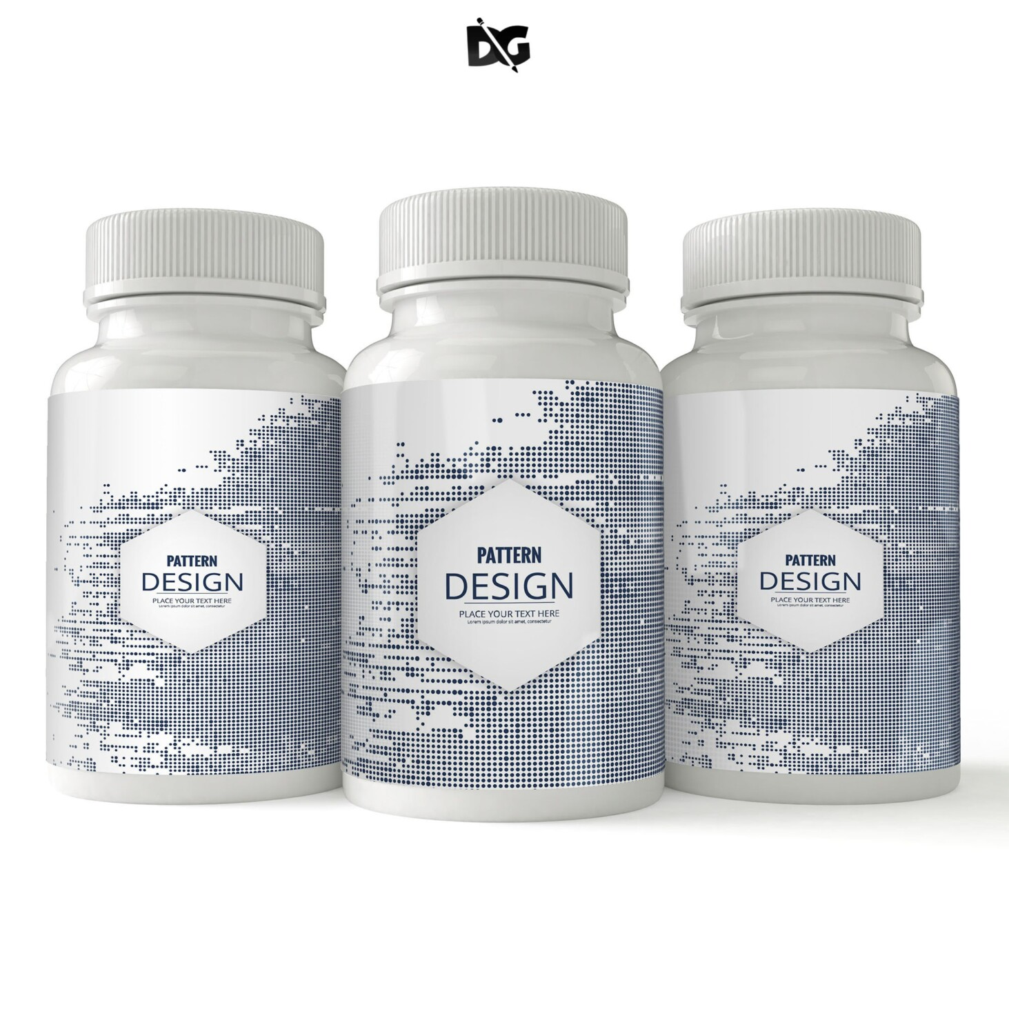 Product Bottle Label Mockup