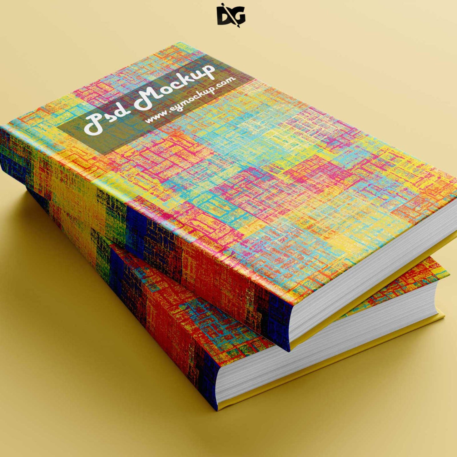 Book Design PSD Mock-up