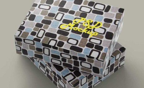 Sweet Box Label Mockup
