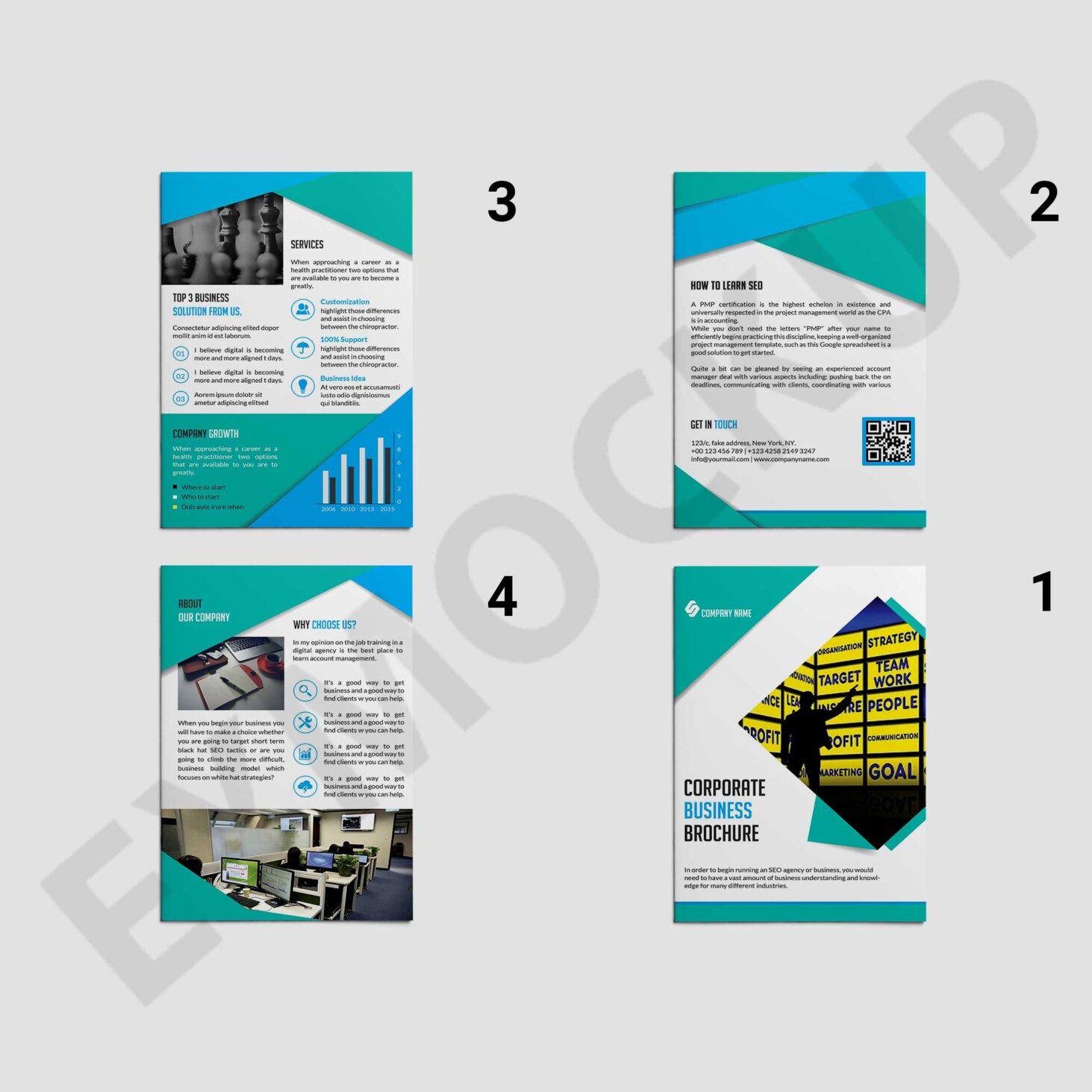 Clean Brochure Design