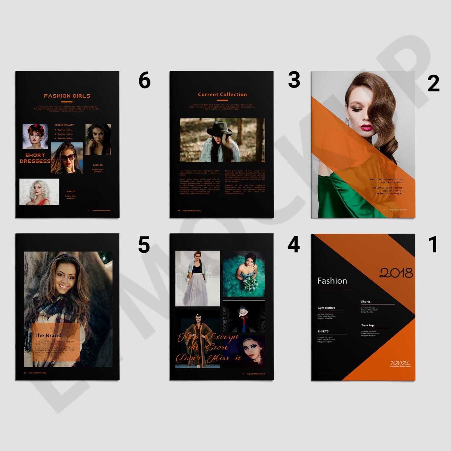 Catalog Brochure Template