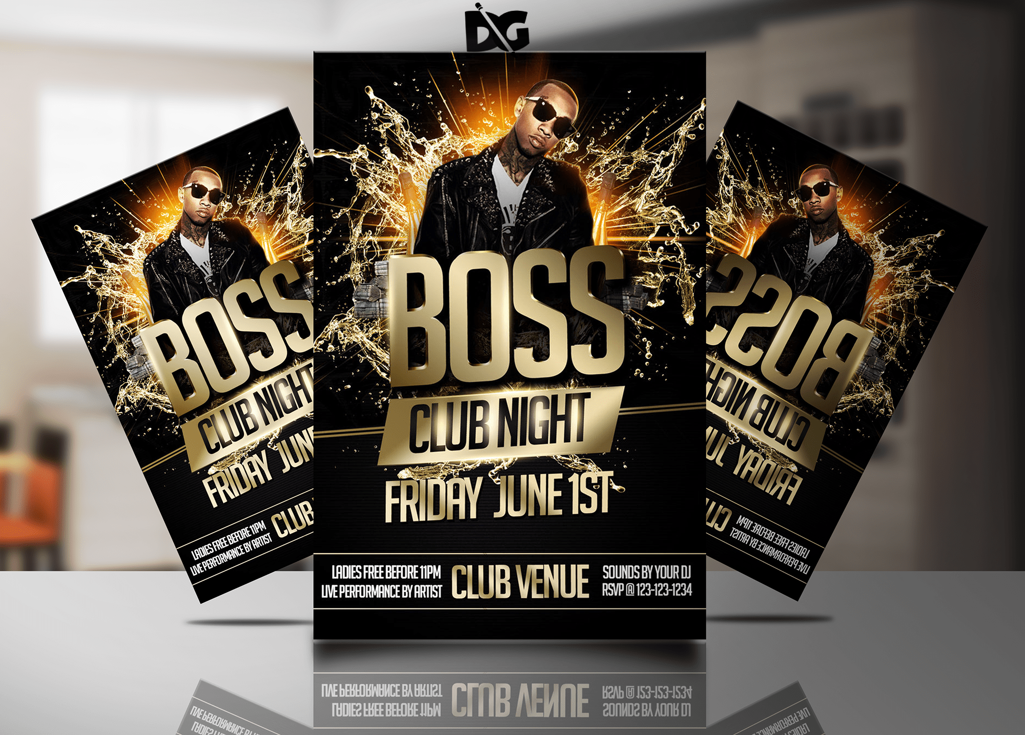 Flyer Design Mock-ups