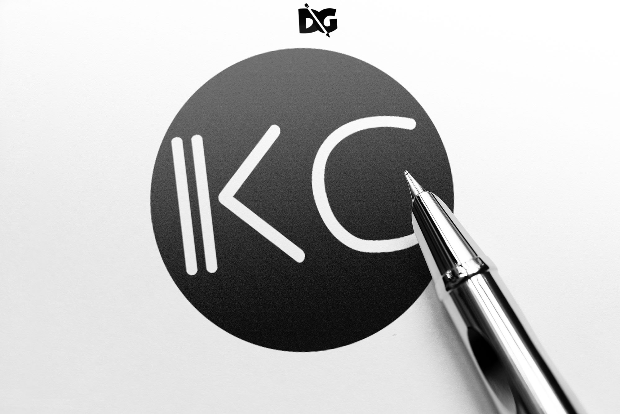 Latest Logo Mockup Pen