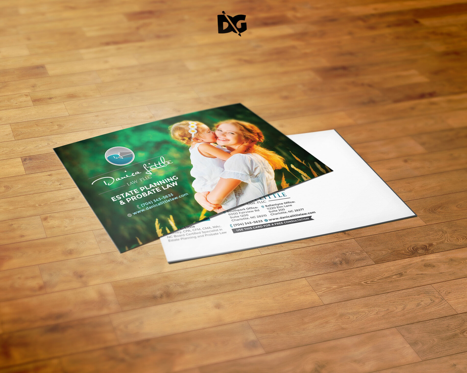 Download PostCard Mockup