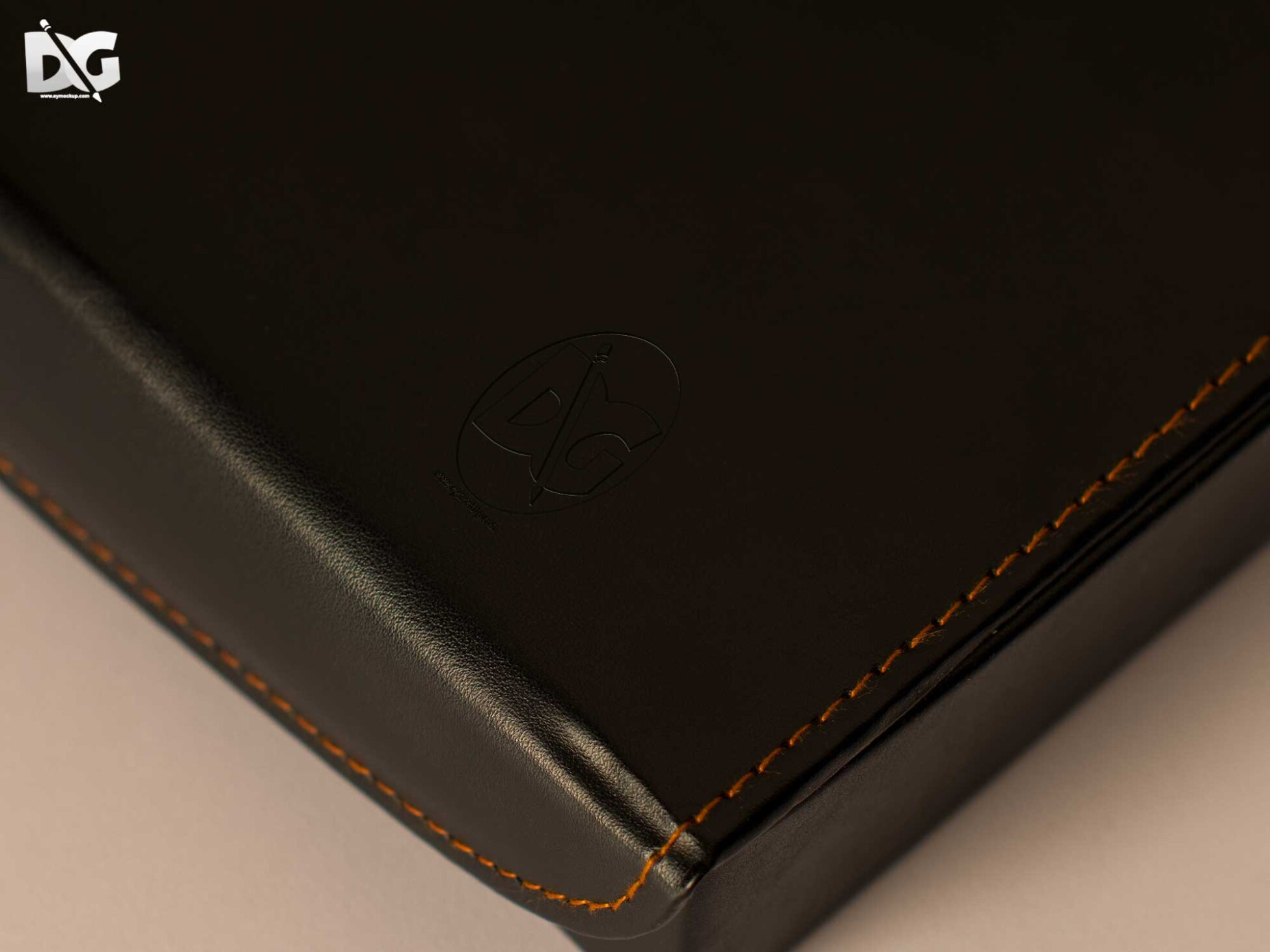 Brown Leather Logo