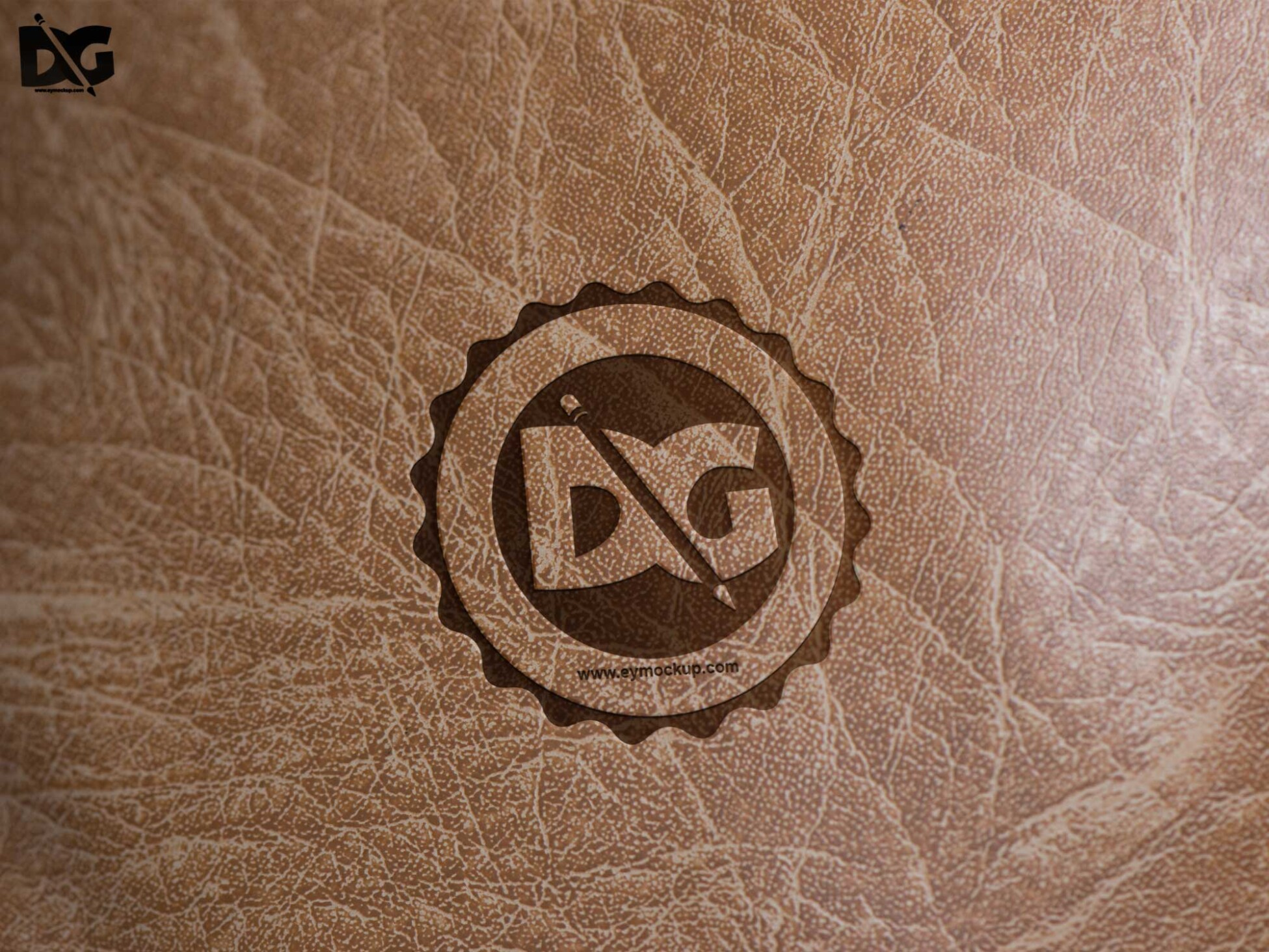Leather Logo Mockups