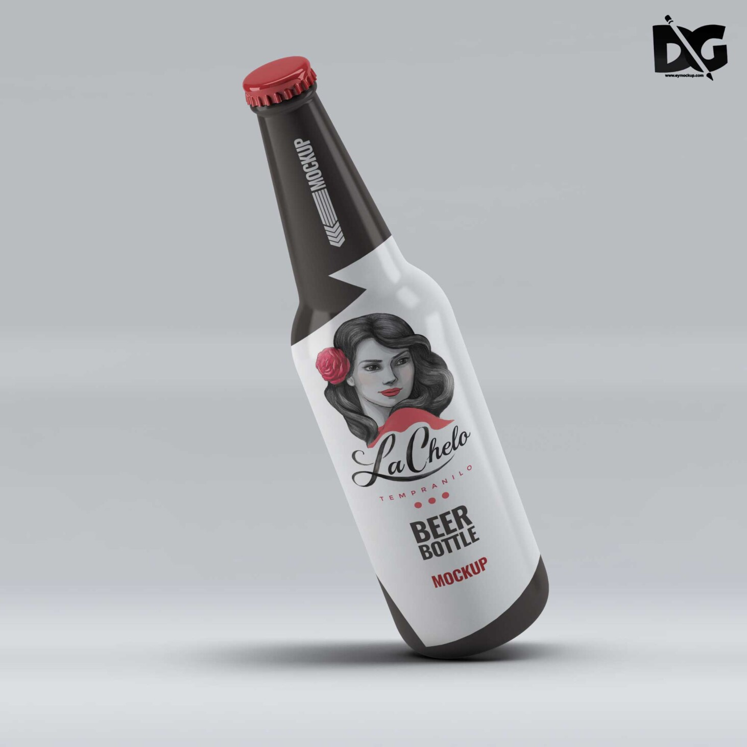 Bottle Label Mockup