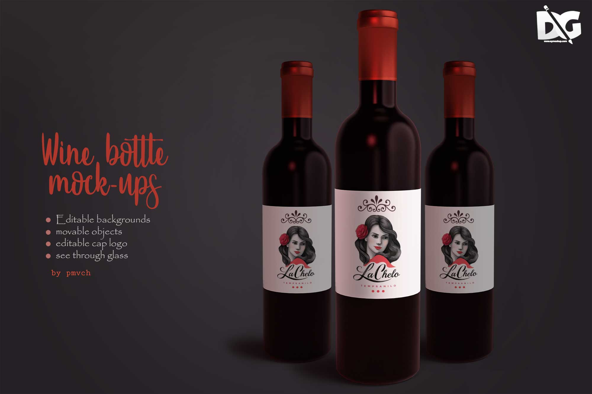 Label PSD Mockup