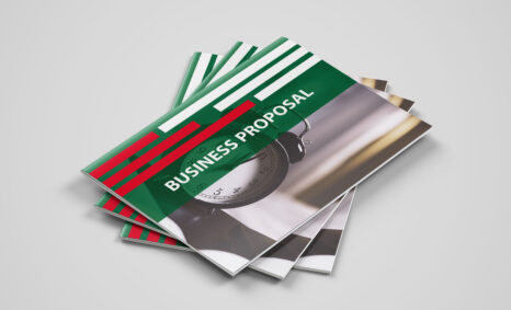 Free Download Business Proposal PSD Template