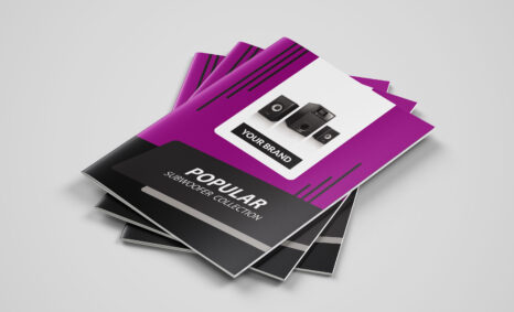 Free Download Electronics Catalogue Template