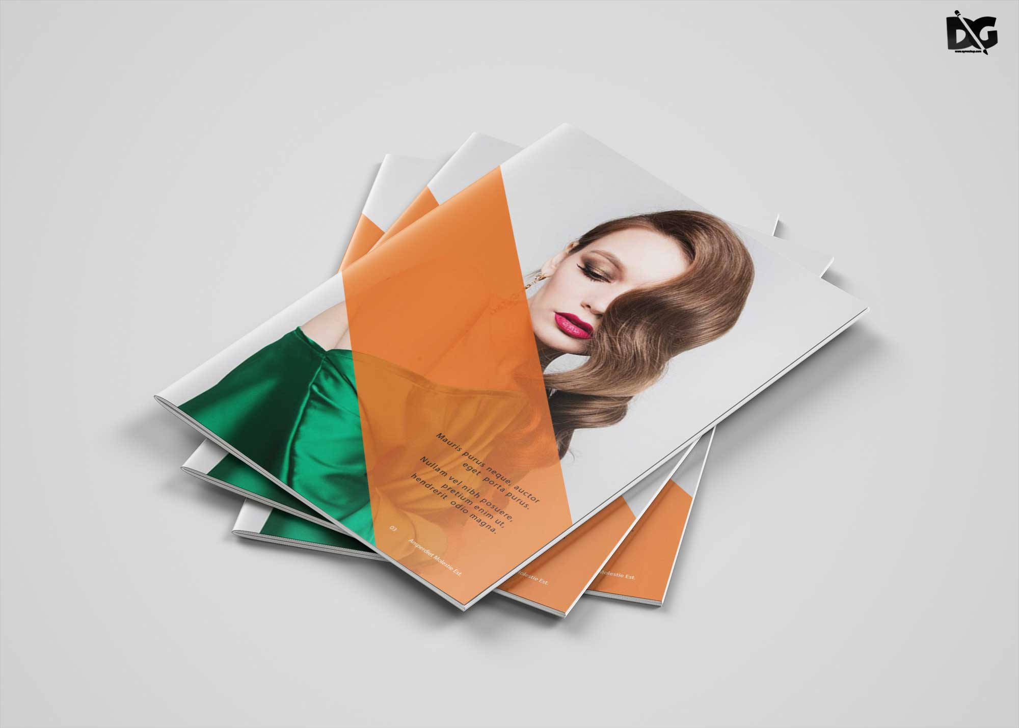 Free Download Fashion Catalog Brochure Template