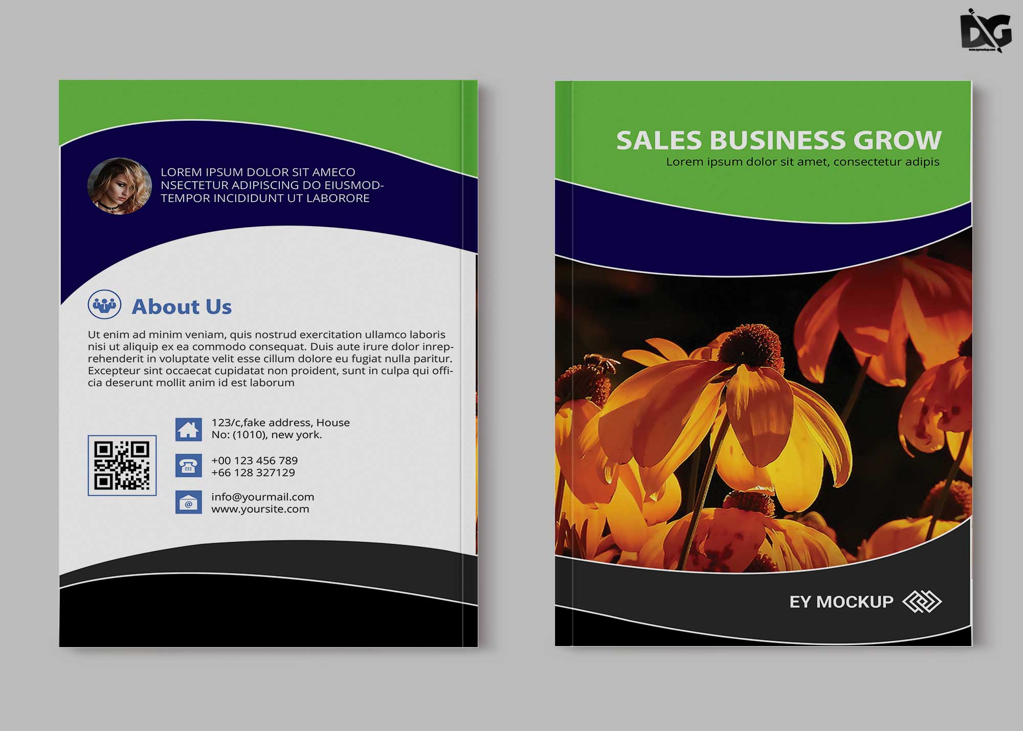 Free download marketing psd brochure template maxwellsz