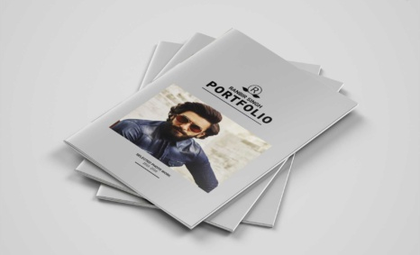 Free Download A4 Fashion Brochure Template