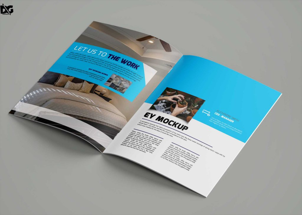 Free Downlaod SEO Brochure Templates