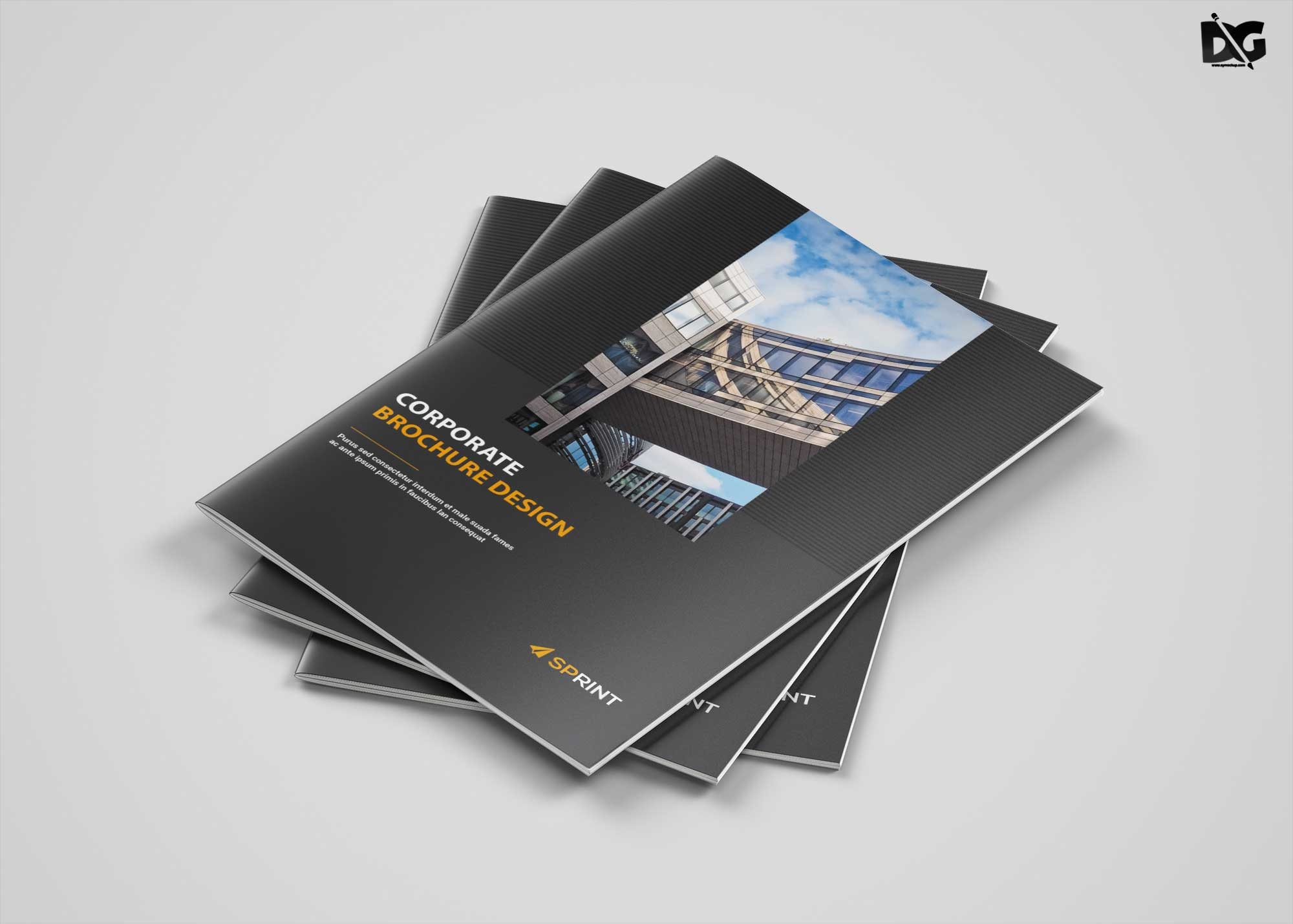 Free Download A4 Funeral Brochure Template