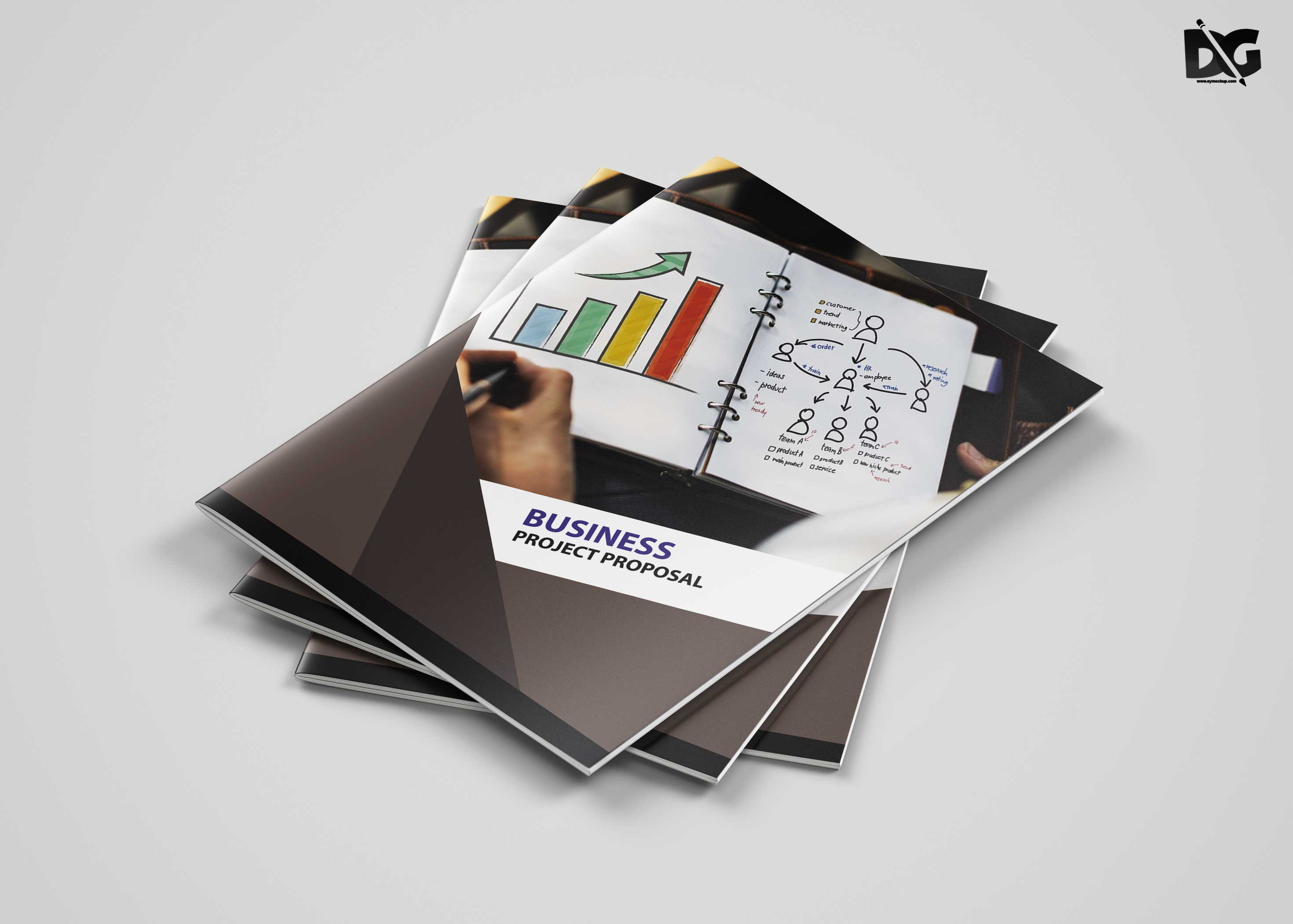 Free creative business proposal brochure template cheaphphosting Image collections