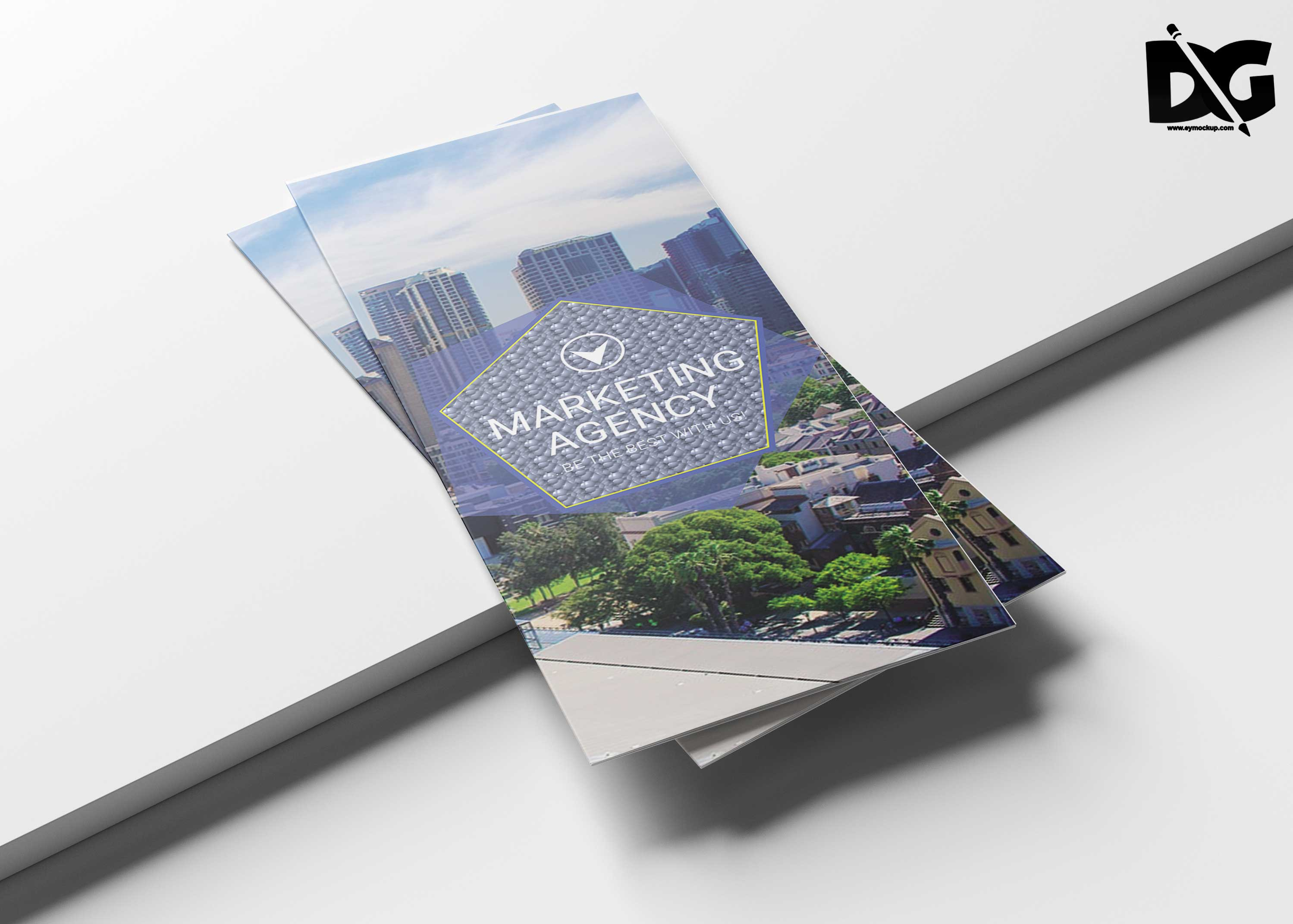 Creative Real Estate Tri-fold Brochure Template