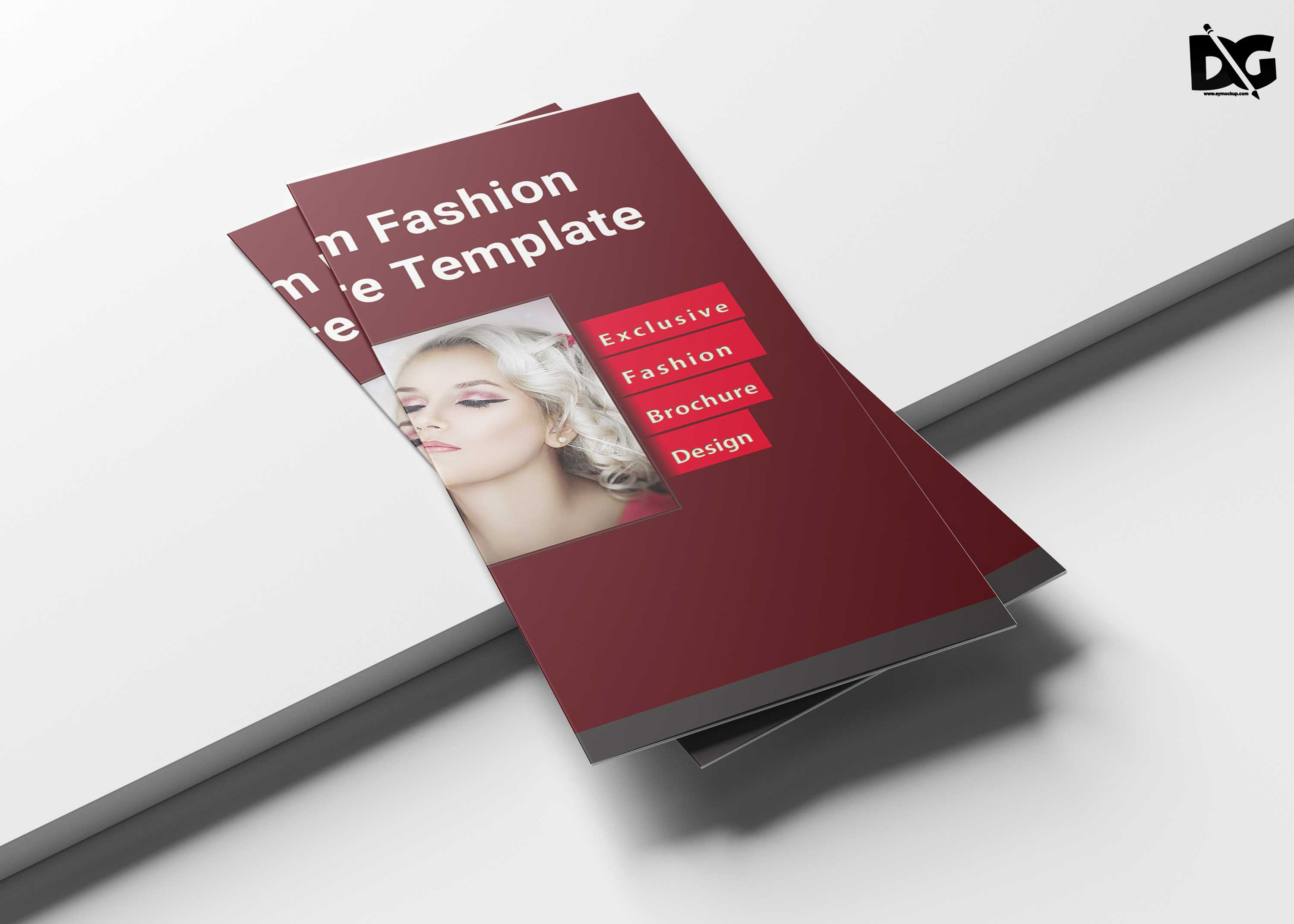 Fashion Tri-Fold Brochure Template