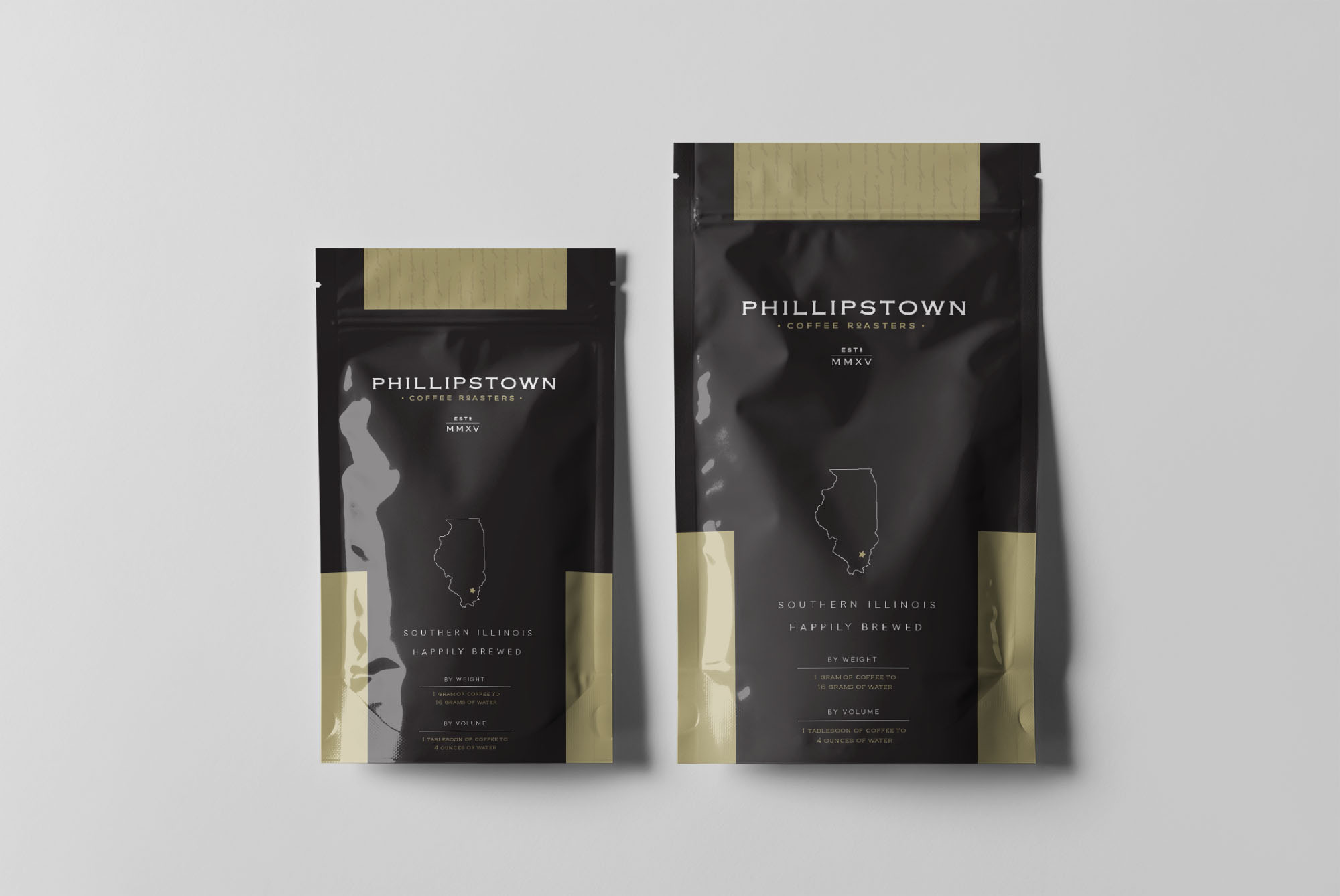 Free Cofee Packaging PSD Label Template