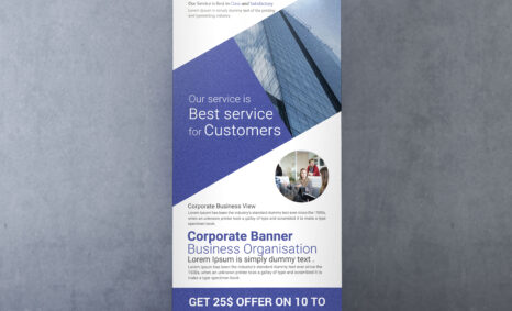 Free Corporate Roll up Banner Template