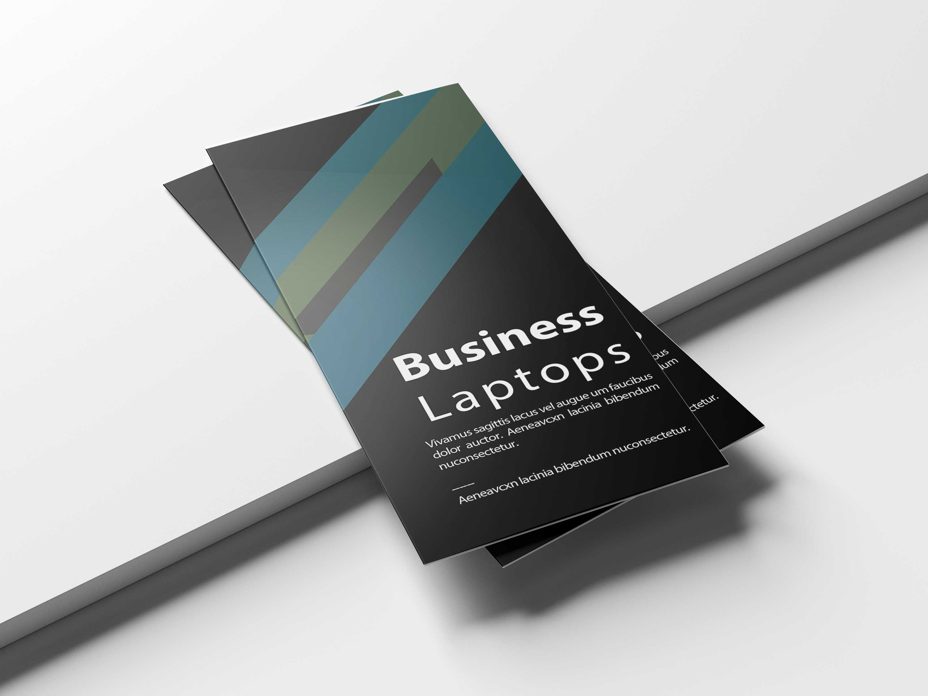 Free Creative Laptop-Tri-Fold-Brochure