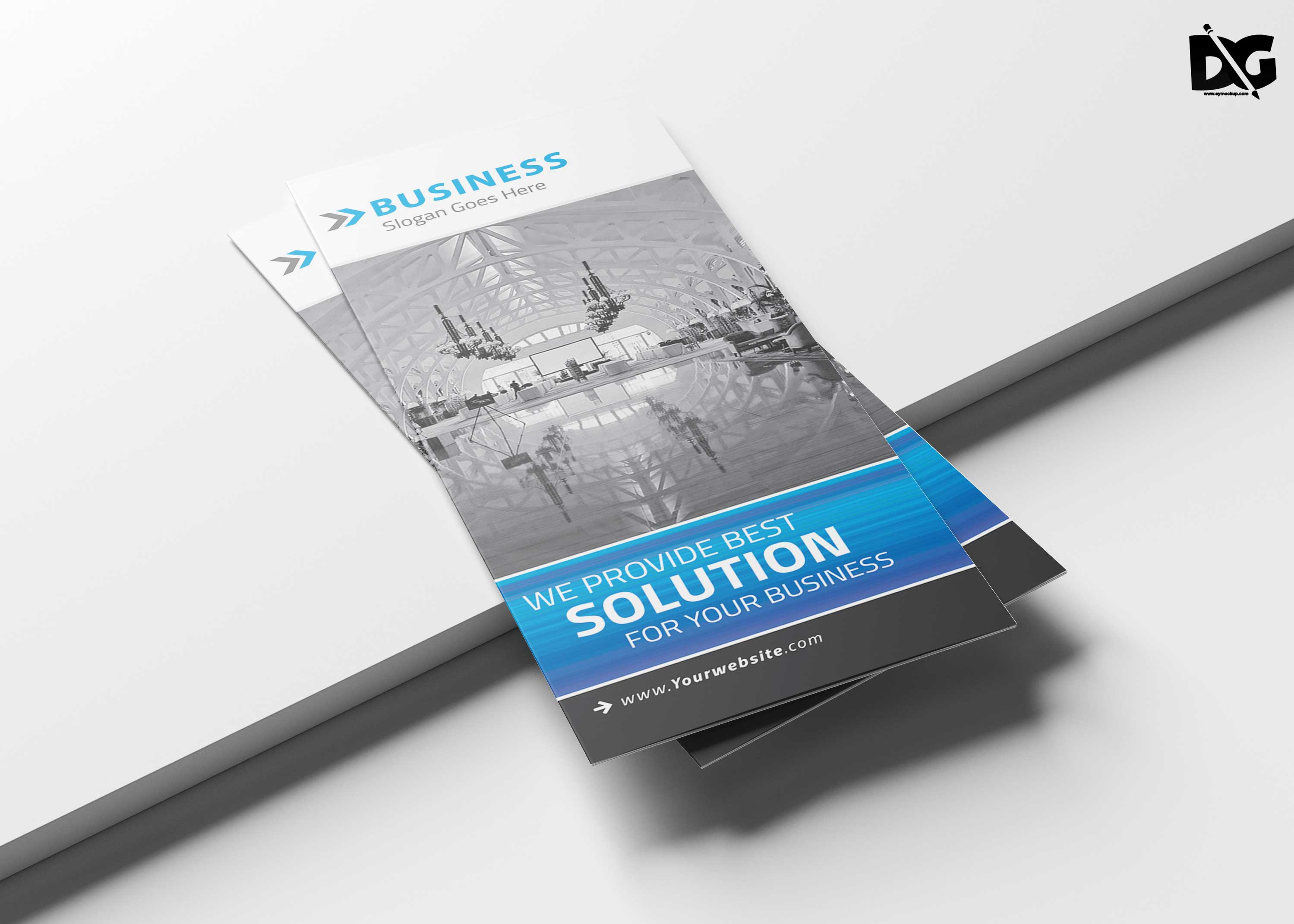 Free Download Business Solution PSD Template