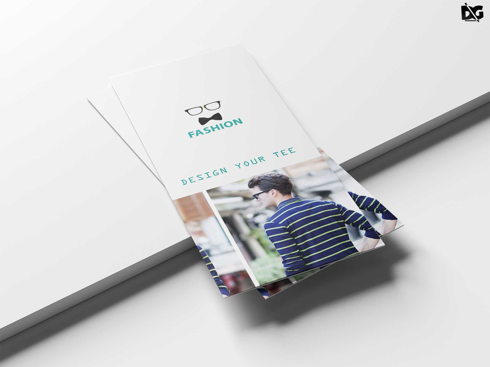 Free Download Ecommese Tri-Fold Template