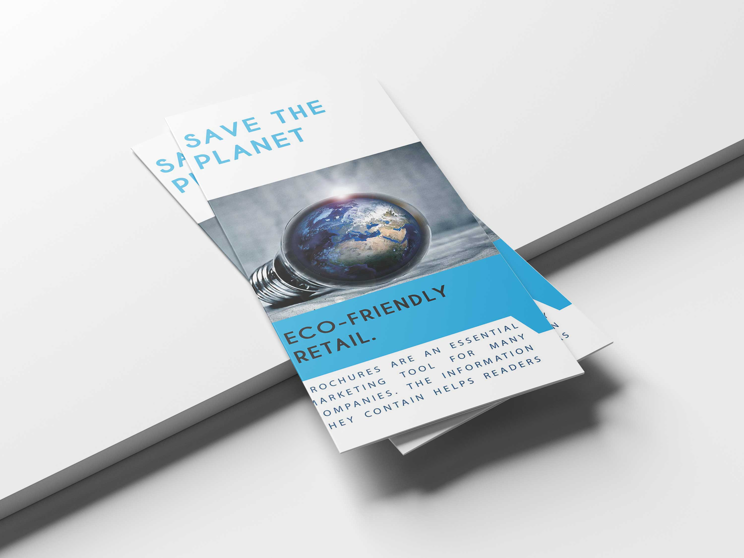 Free Download Geeen Energy Tri-Fold Brochure Template
