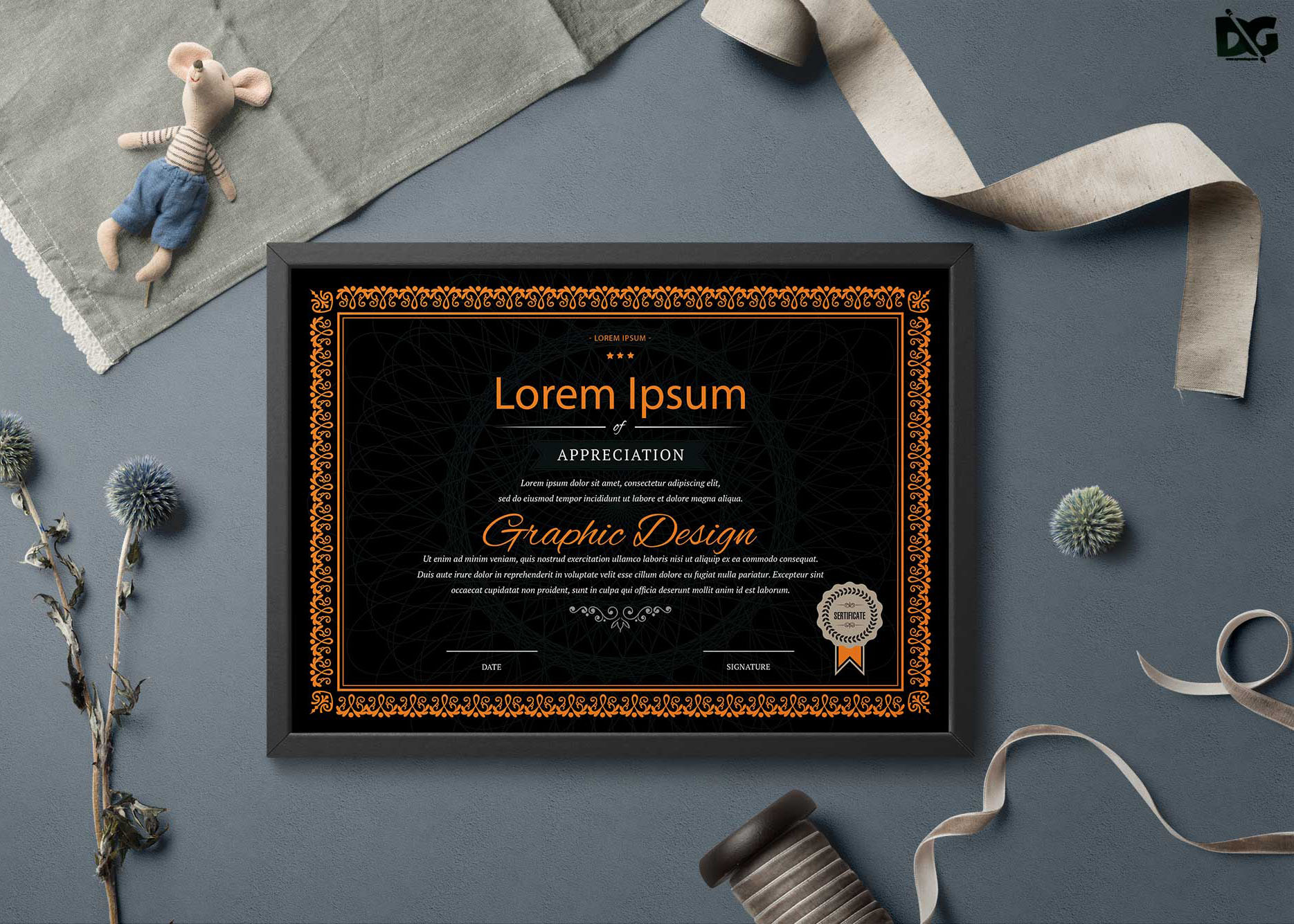 Free Download Multiple Type Certificates Psd Templates Free Psd Mockup