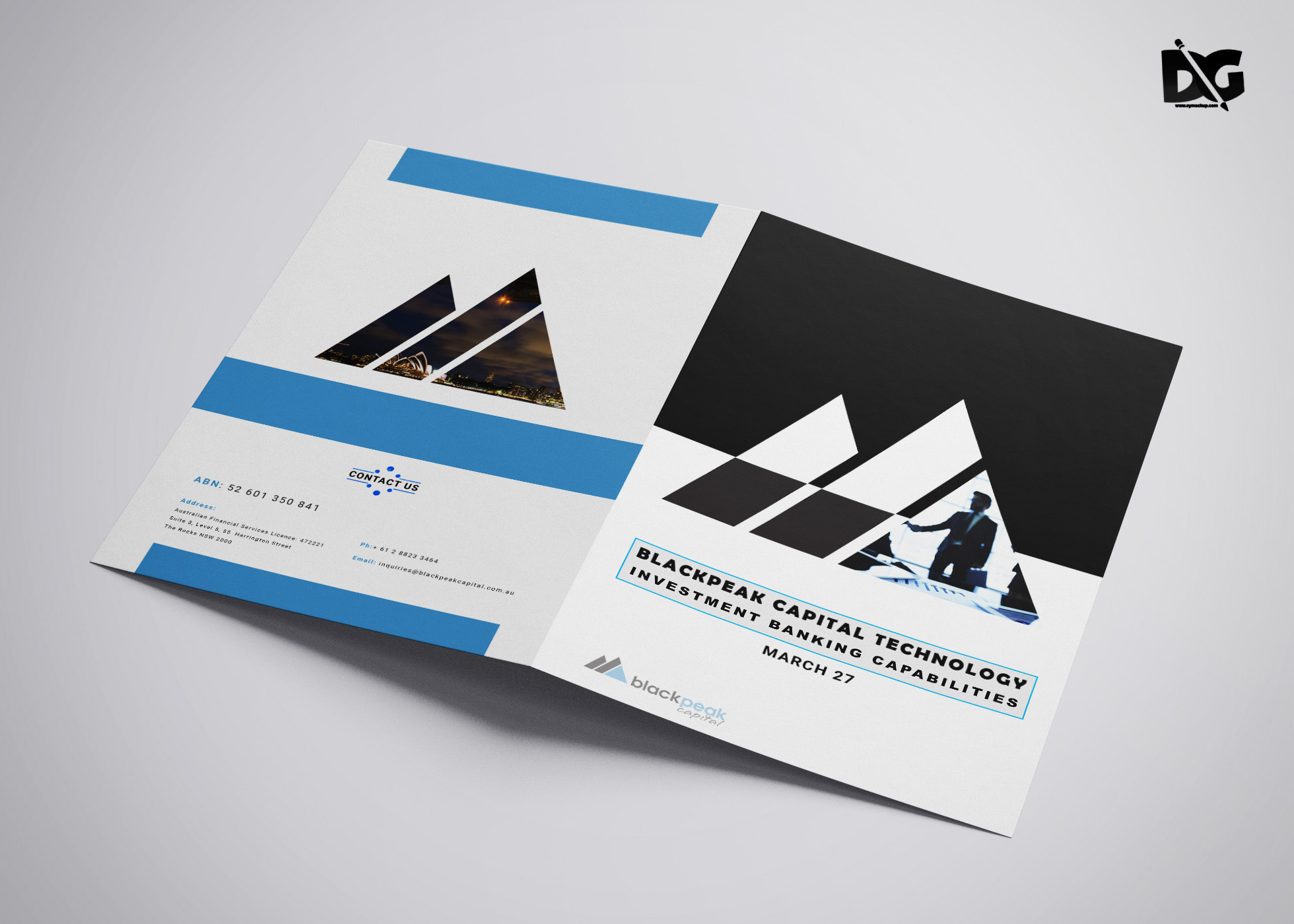 Free Download PSD Business Brochure Bi-Fold Template ...