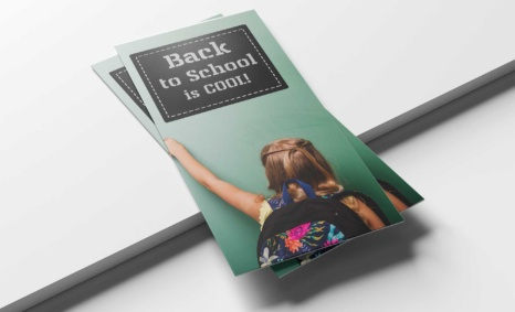 Free Download School Tri-Fold Brochure Template