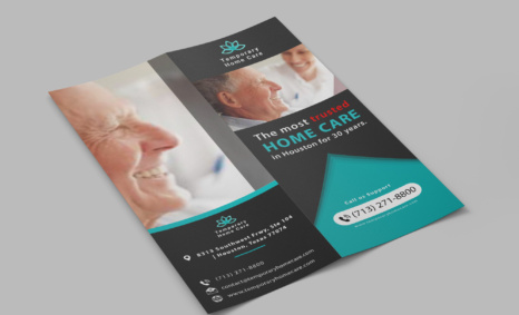 Free Old Age Life Care DL Brochure Template