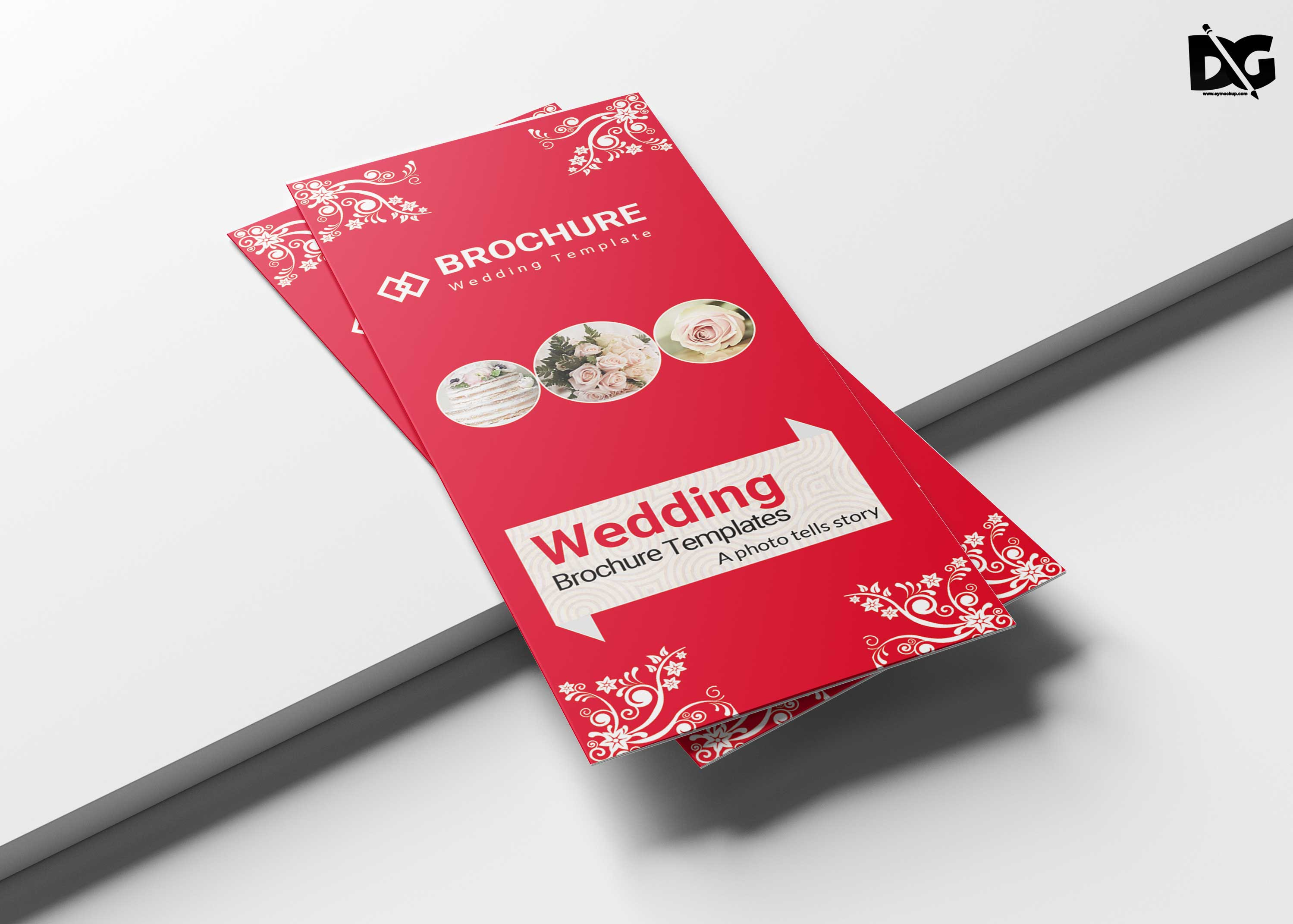 Free Tri-Fold Wedding Brochure Template