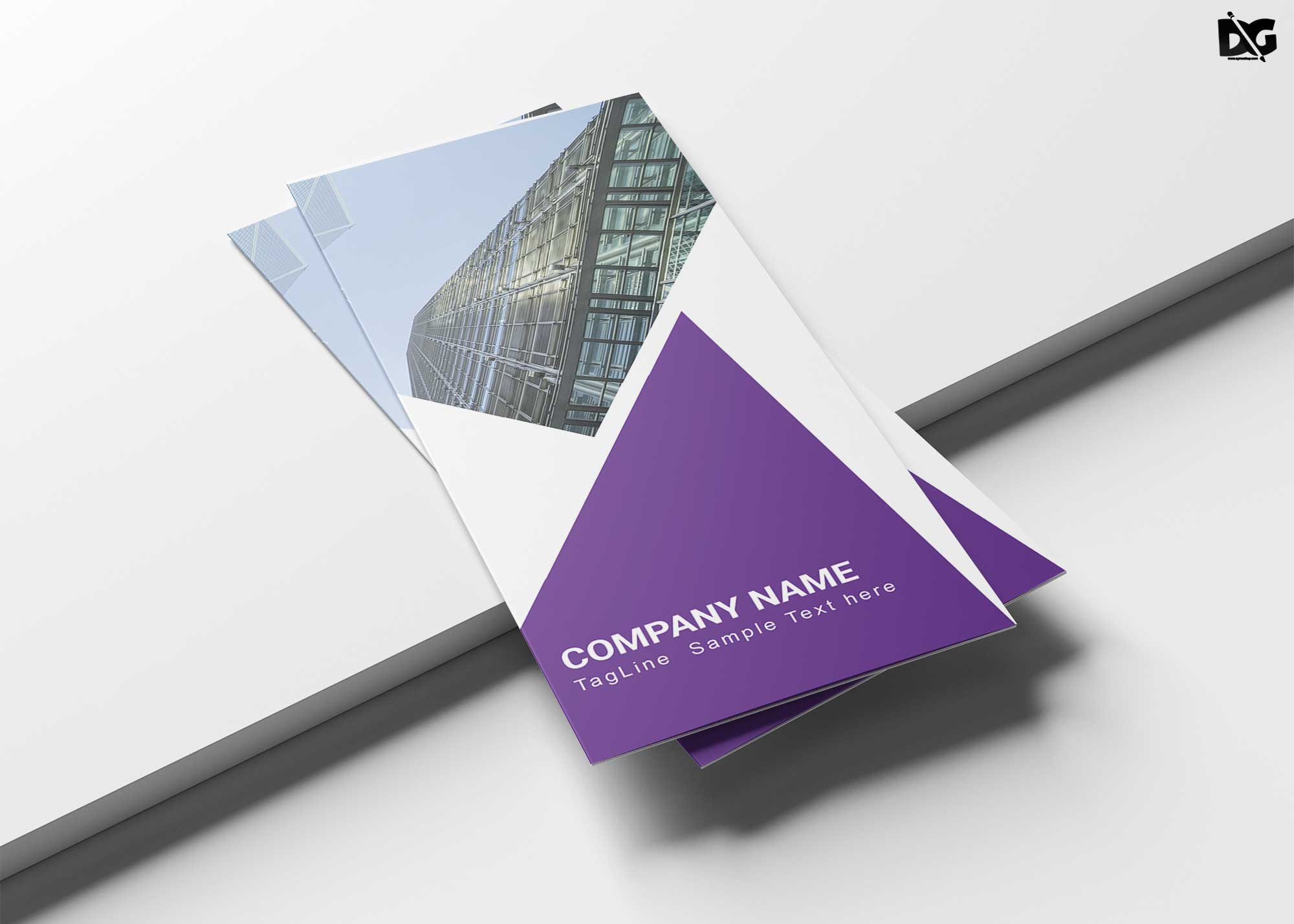 Free Latest Tri-Fold Corporate Brochure Template
