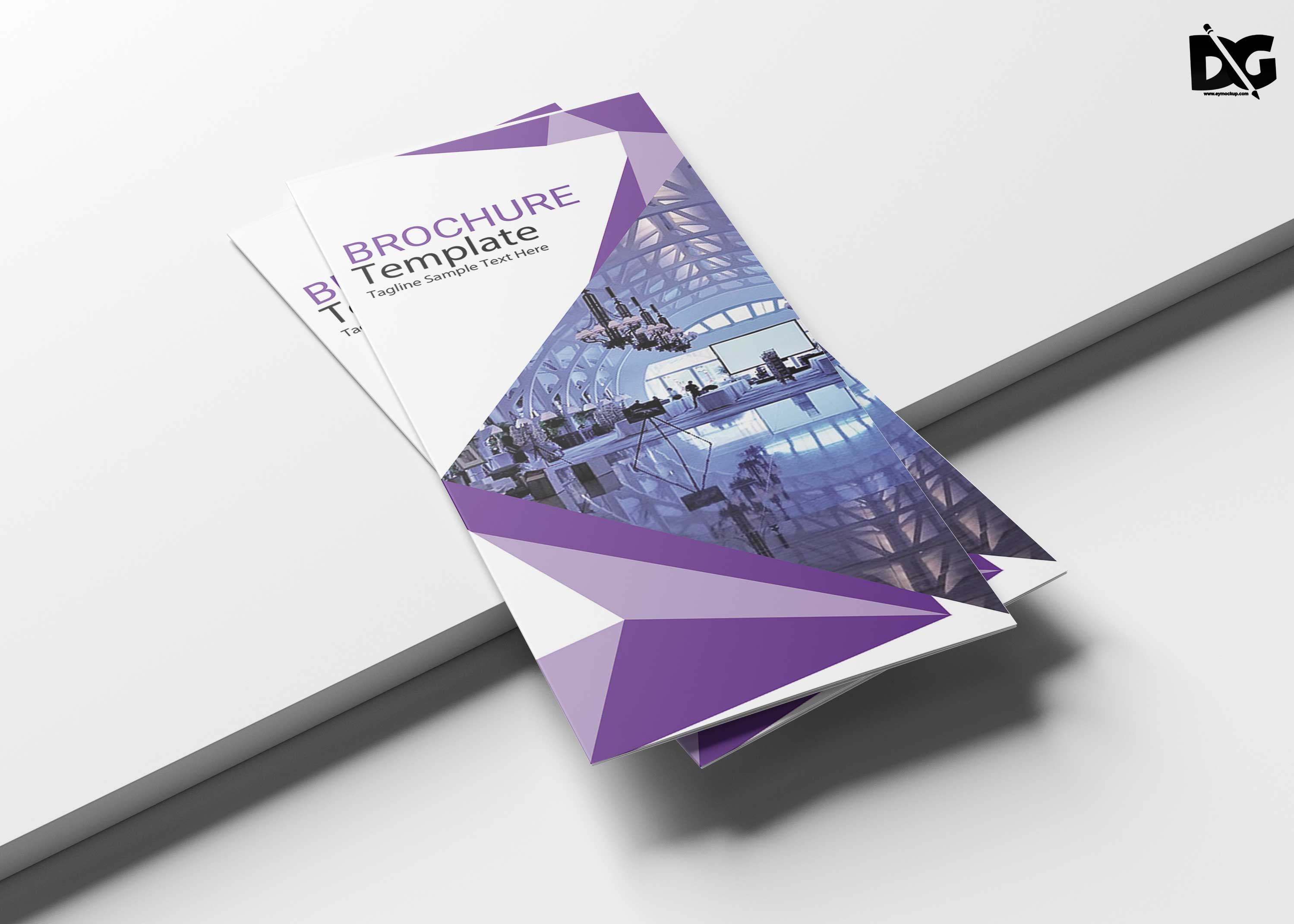 Free Download Hotel Tri-Fold Brochure Template