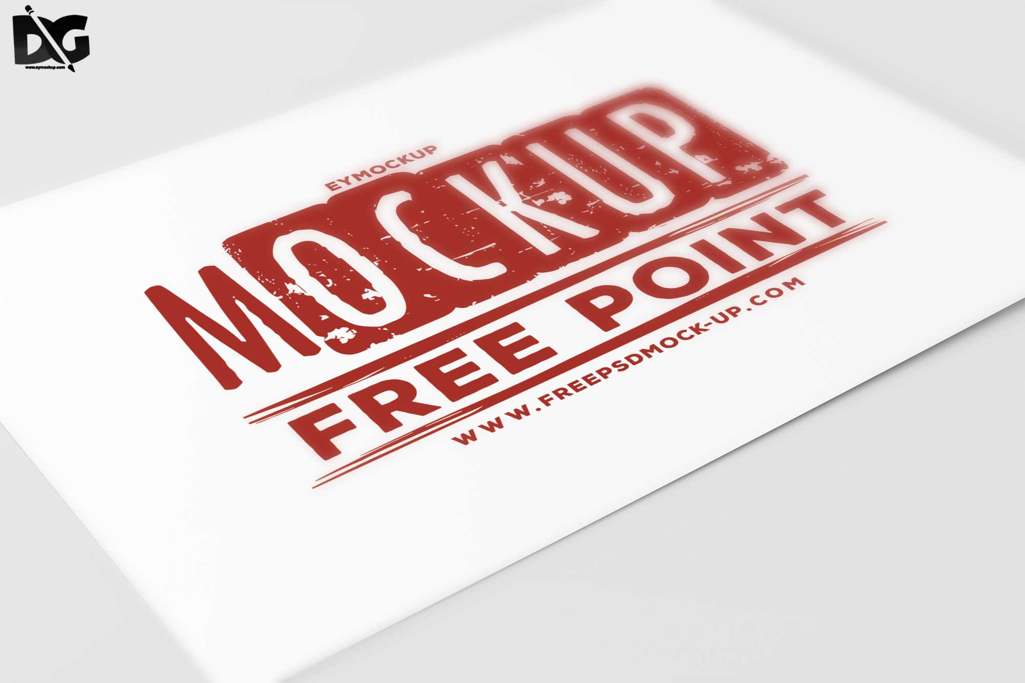 Free Flyer Artwork Mockup