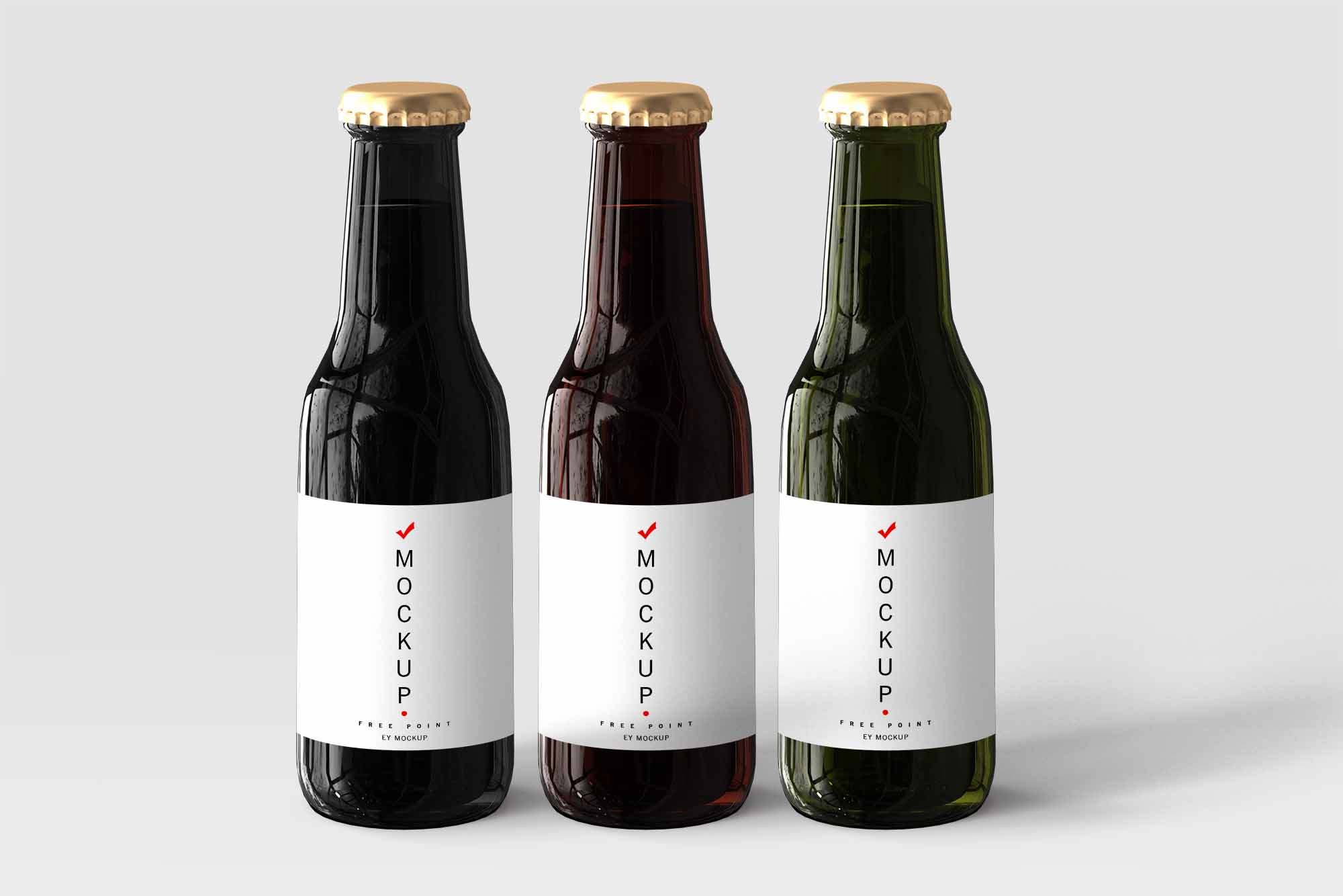 Bottle Label Design Mockup
