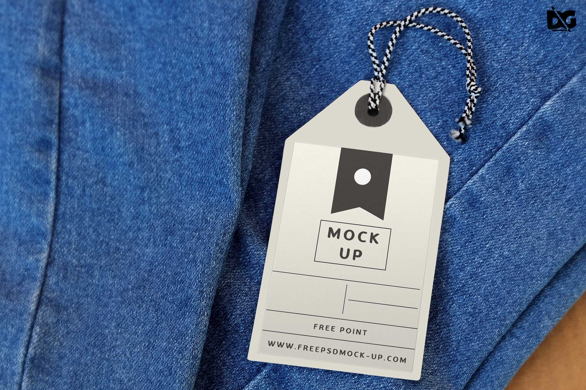 Tag Label Mockup