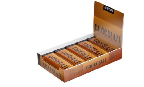 Chocolate Bars Box Mockup