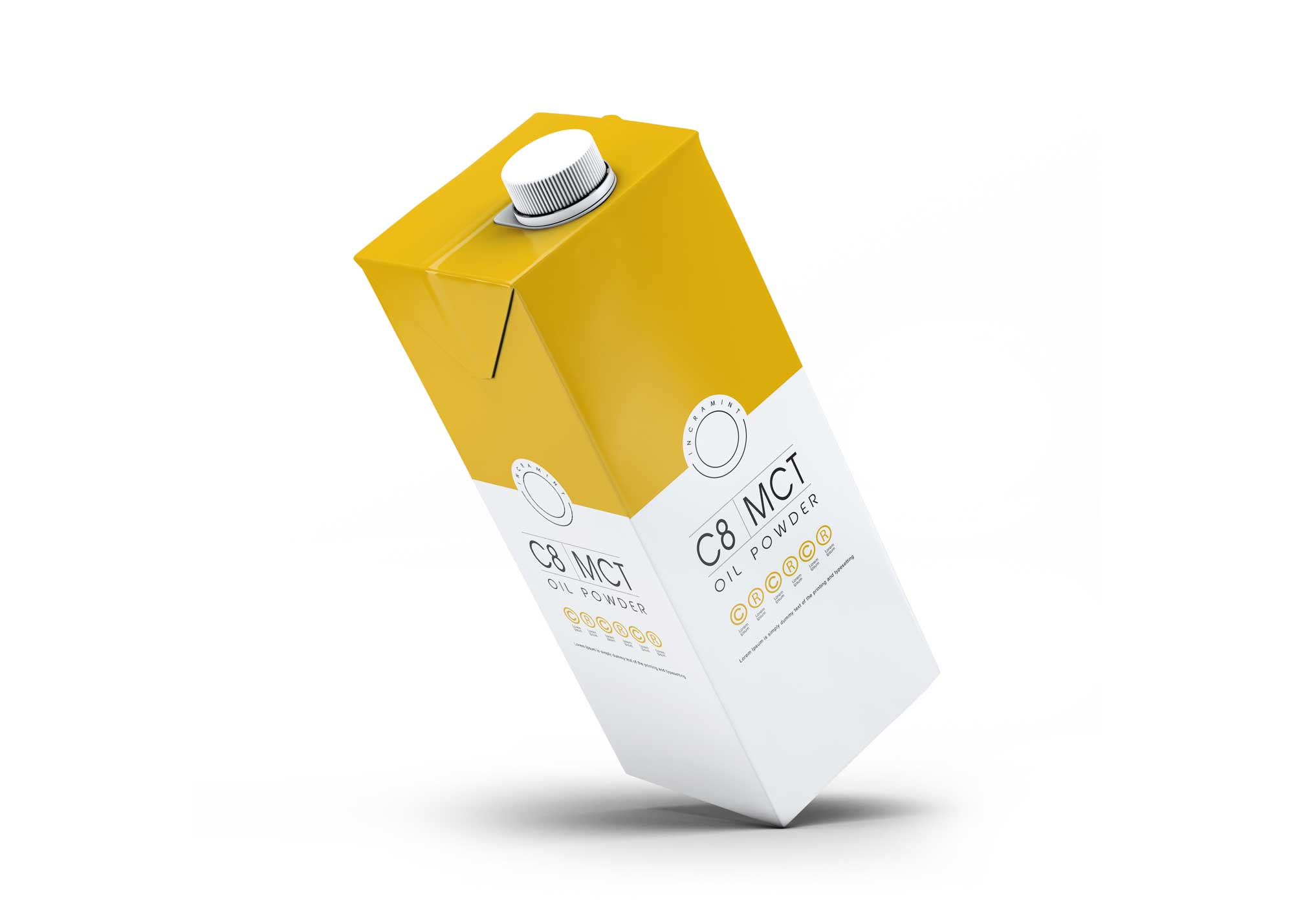 Juice Carton Packaging Mockup