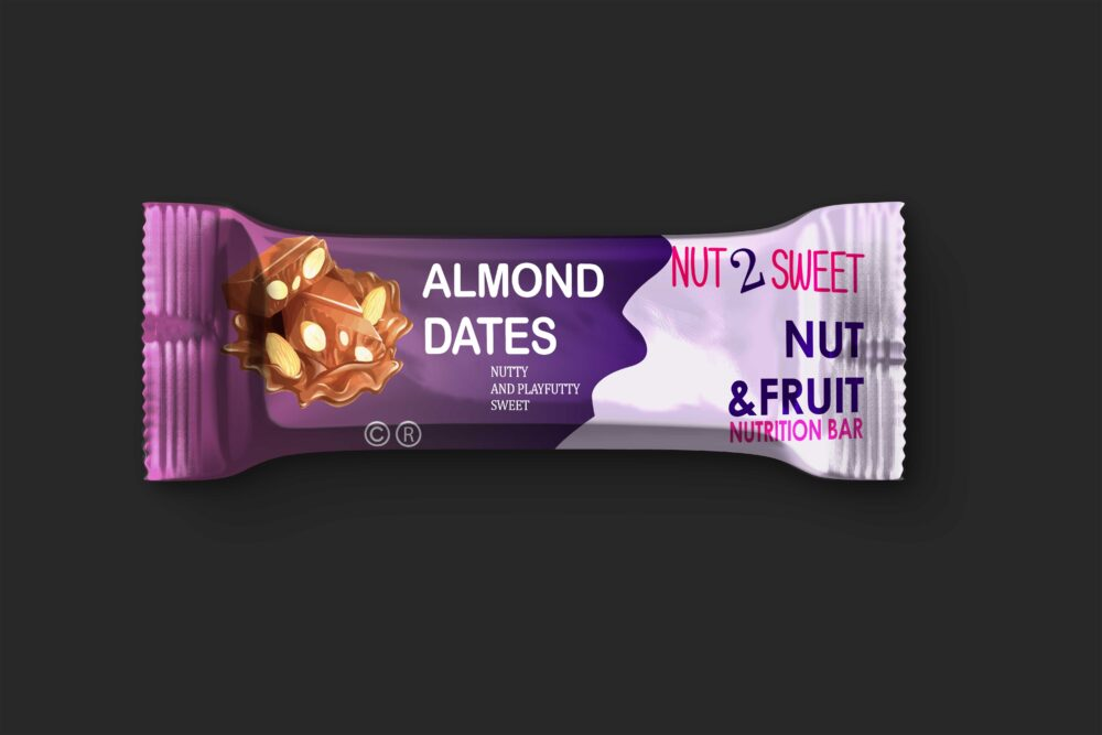 Glossy Snack Bars Label Mockup (2)