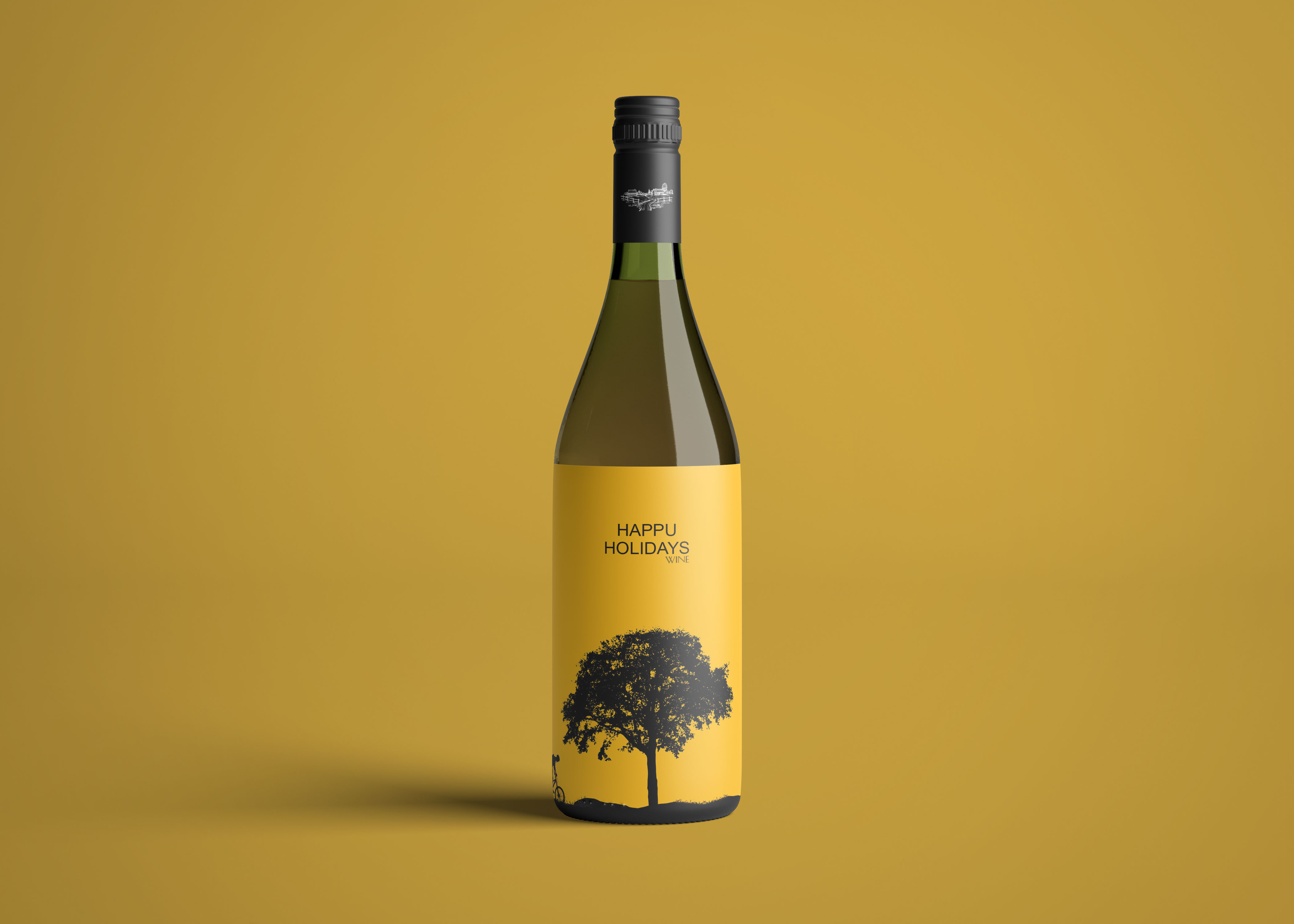 Bottle Label Mockup 2019