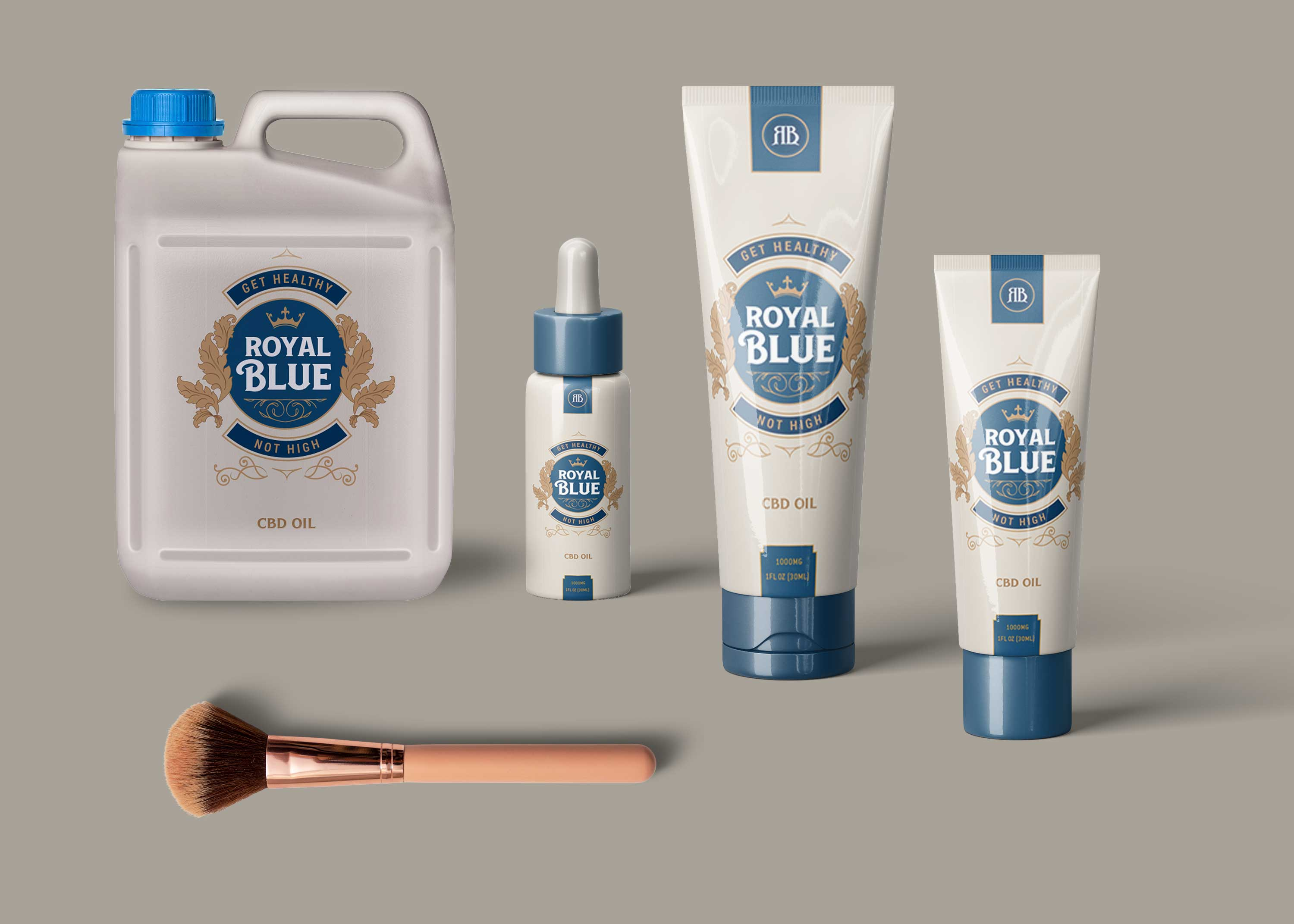 Collection Beauty Product Mockup