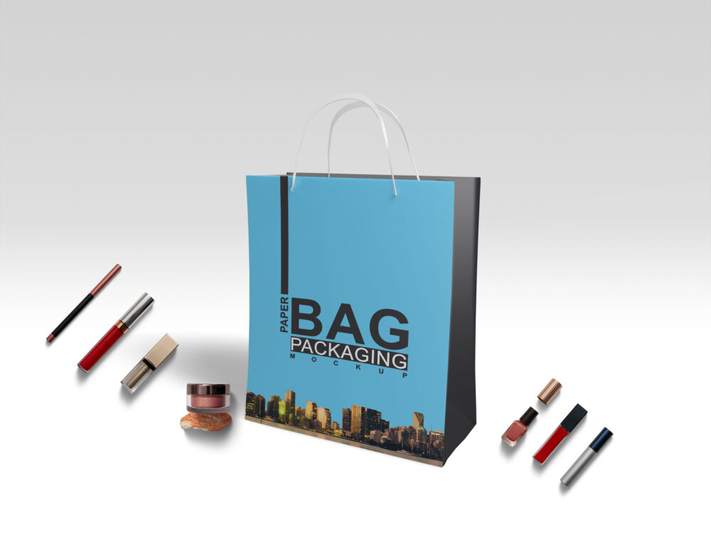 Carrier Bag PSD Mockup